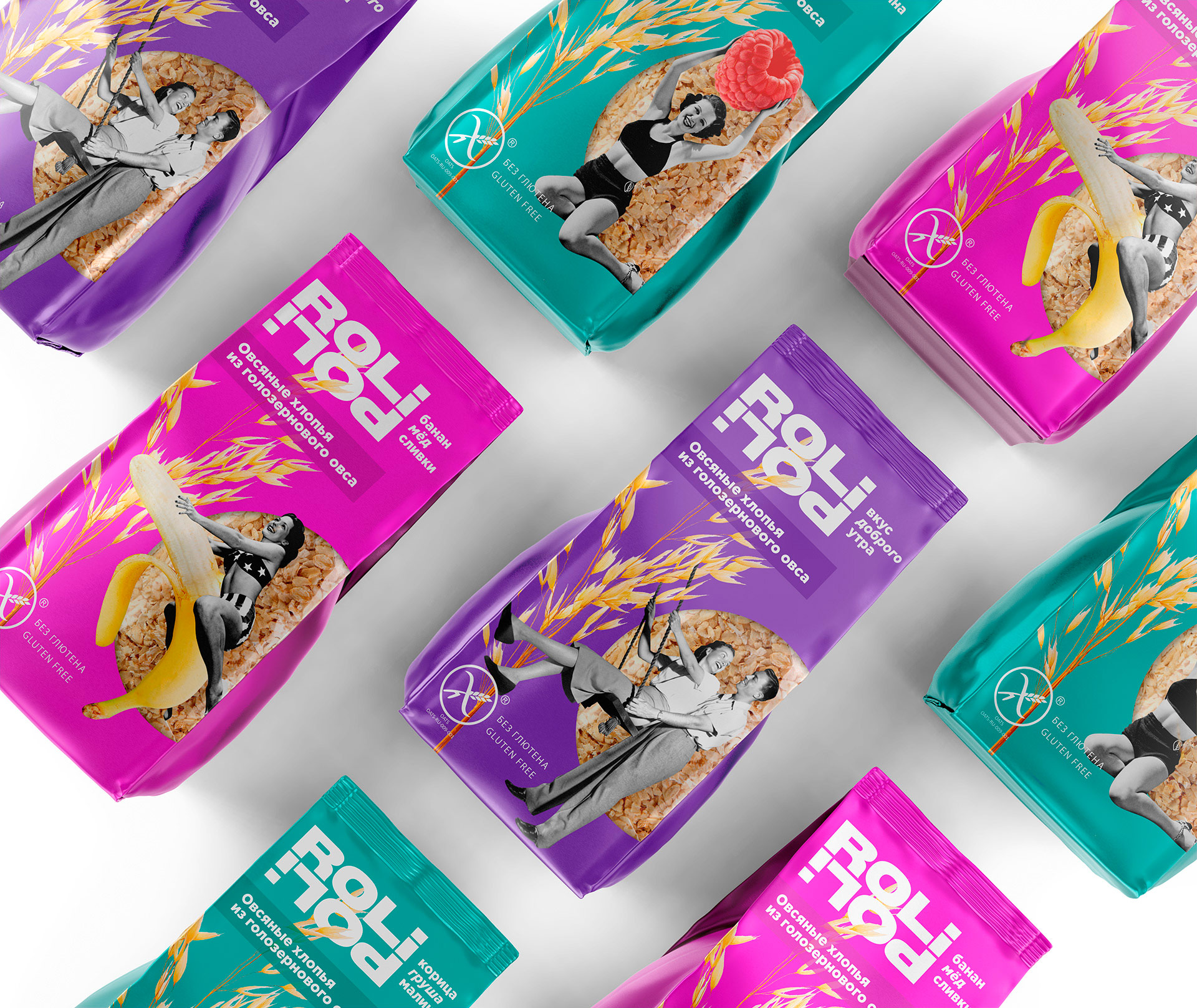 Oatmeal Packaging Design for Rolipoli Created by Part