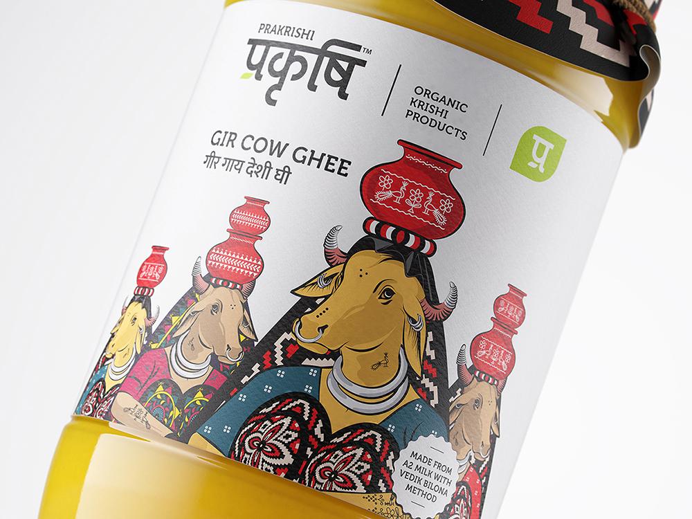 Sol Benito Creates New Packaging for Prakrishi Organics