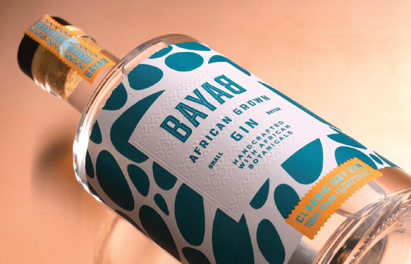 Backbar Studios Creates Bright and Bold Rebrand Design for Bayab Gin