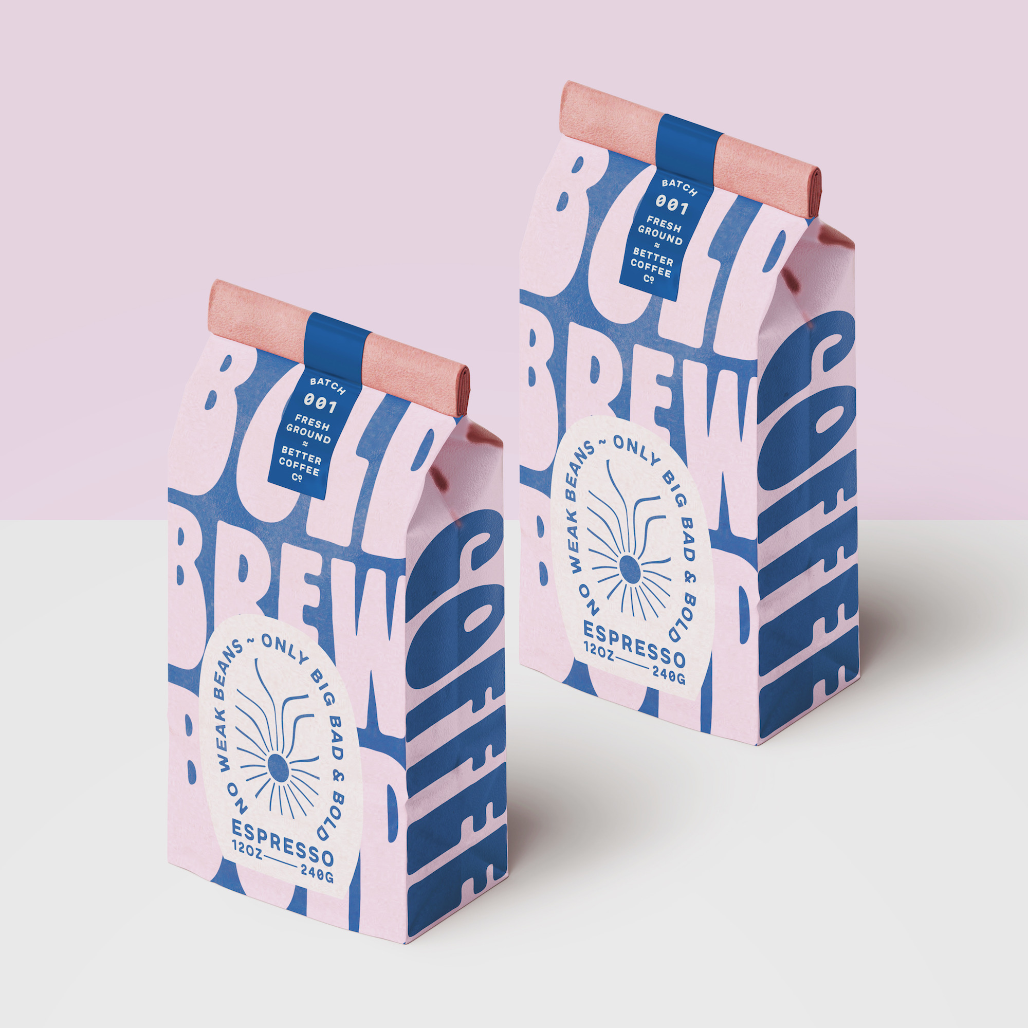 Better Coffee Co. Concept for Branding and Packaging Design