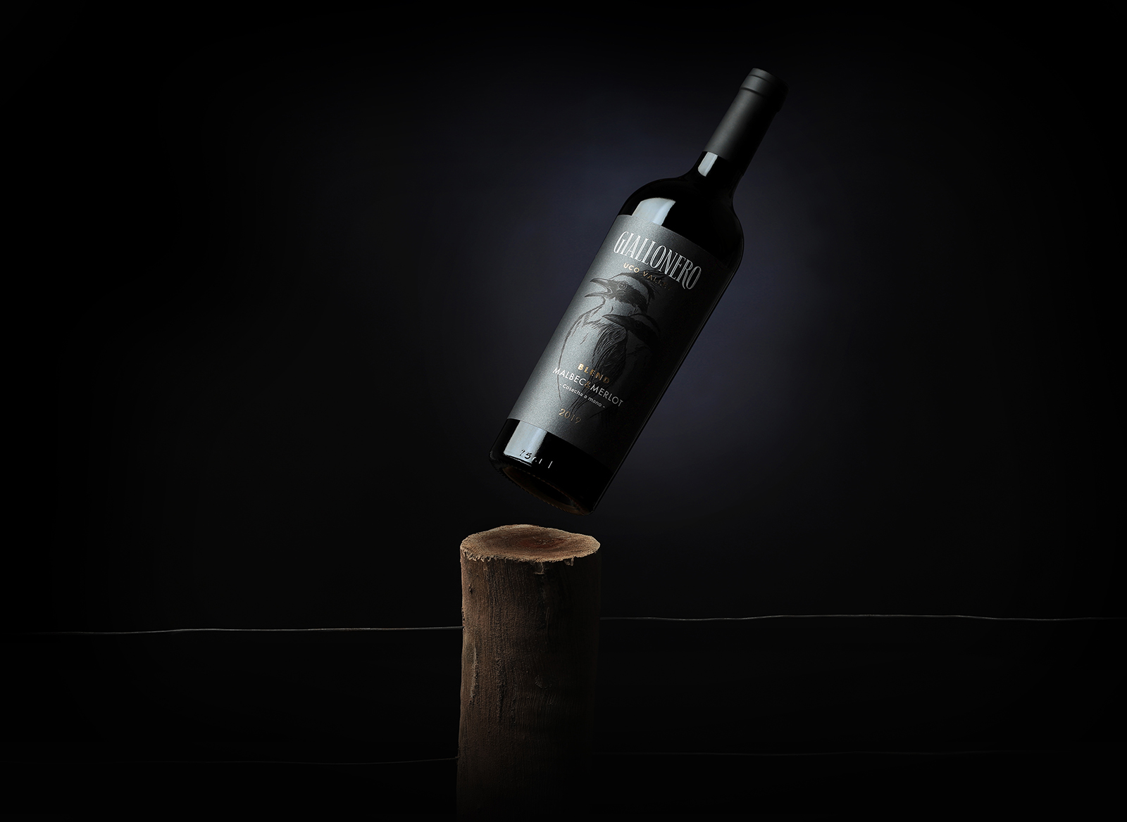 Disruptive Brand Agency Create Brand and Label Design for Giallonero Wines in Argentina