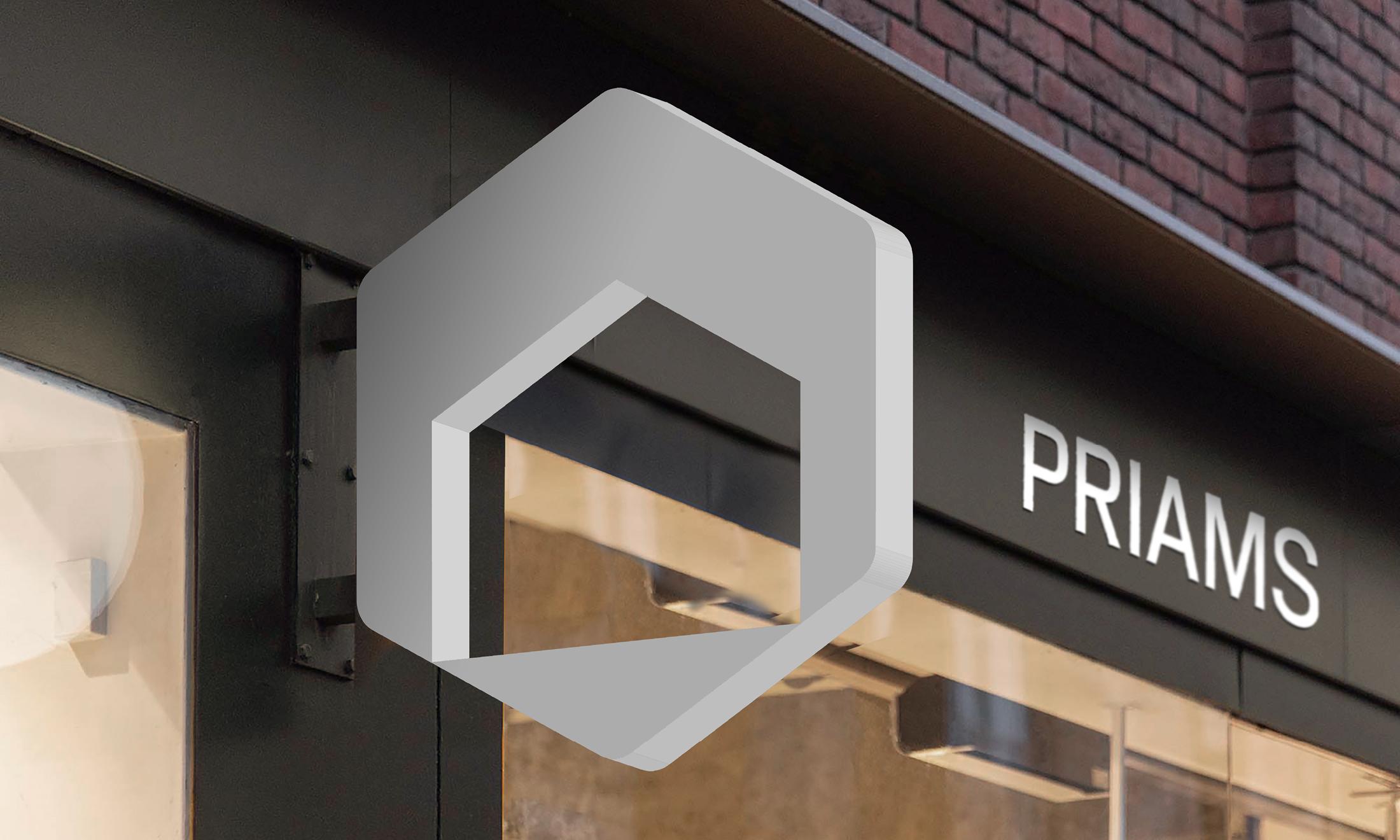Priams Rebranded by Hymn Design