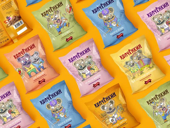 Adequate People Creates Kopchenkin Brand Identity and Packaging Design