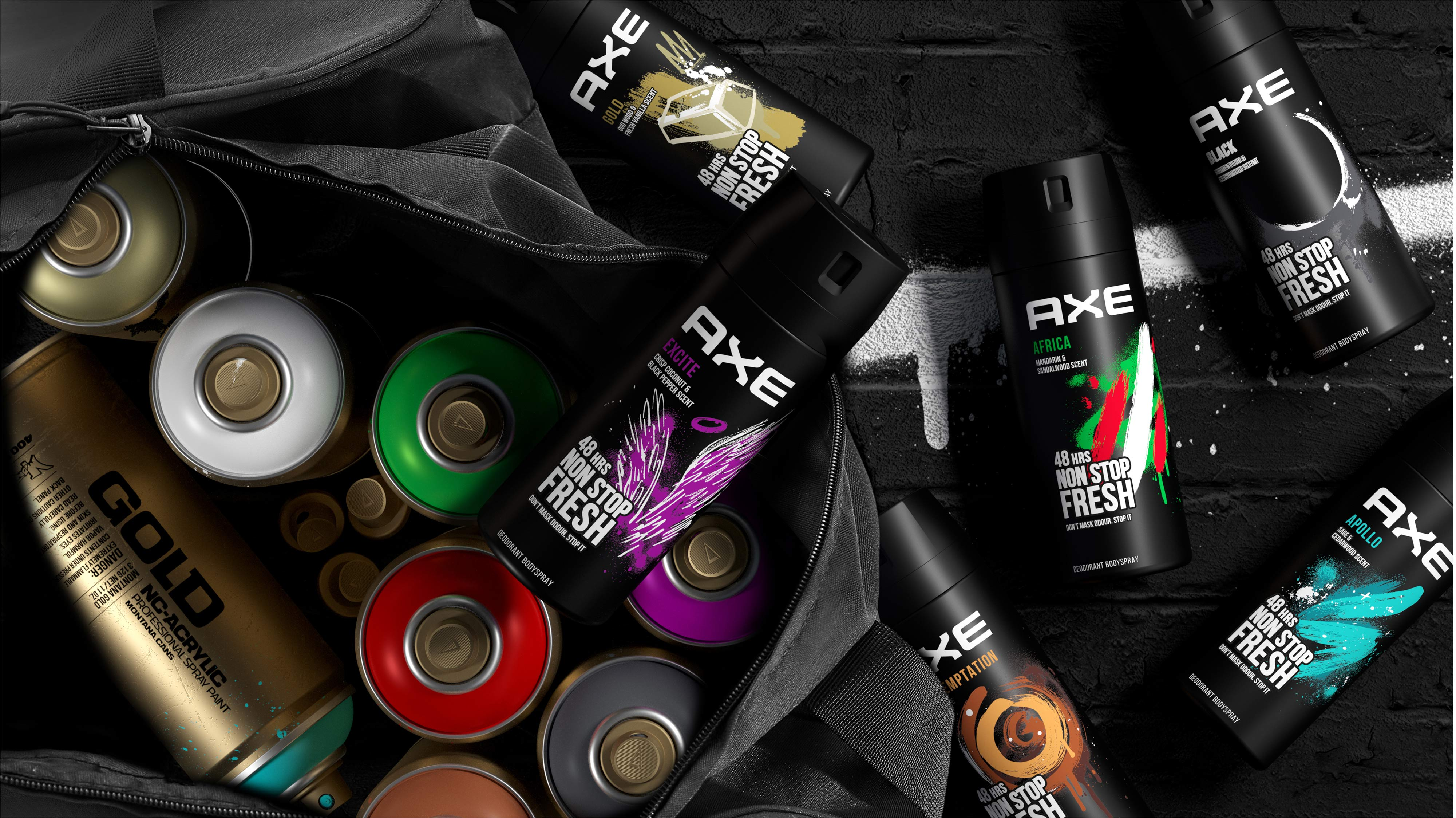 Expression is the Future! Axe Global Redesign by PB Creative