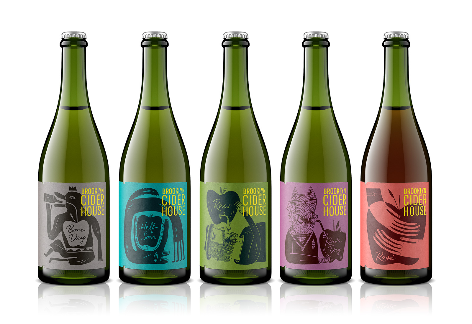 Pavement Redesigns Brooklyn Cider House's Core Hard Cider Lineup
