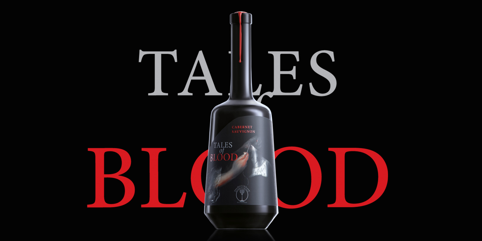 Branding and Packaging Design for Tales of Blood by The BrandHouse