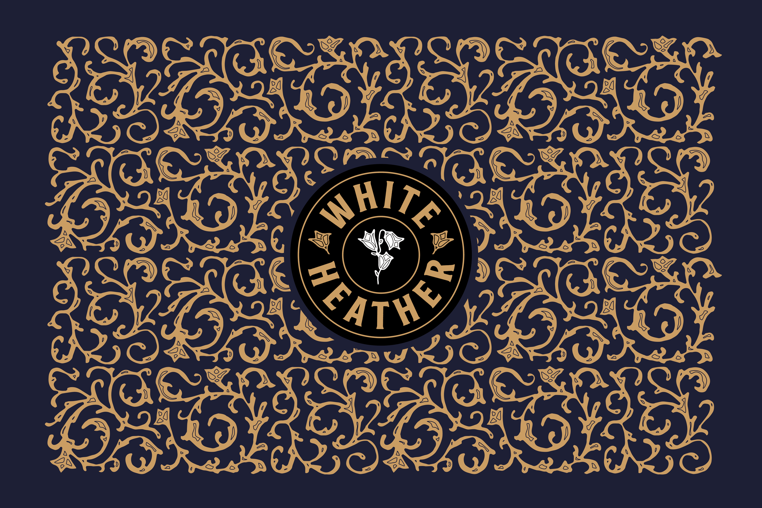 Whisky as Rare as White Heather Blended Scotch Whisky Packaging Design by Thirst Craft