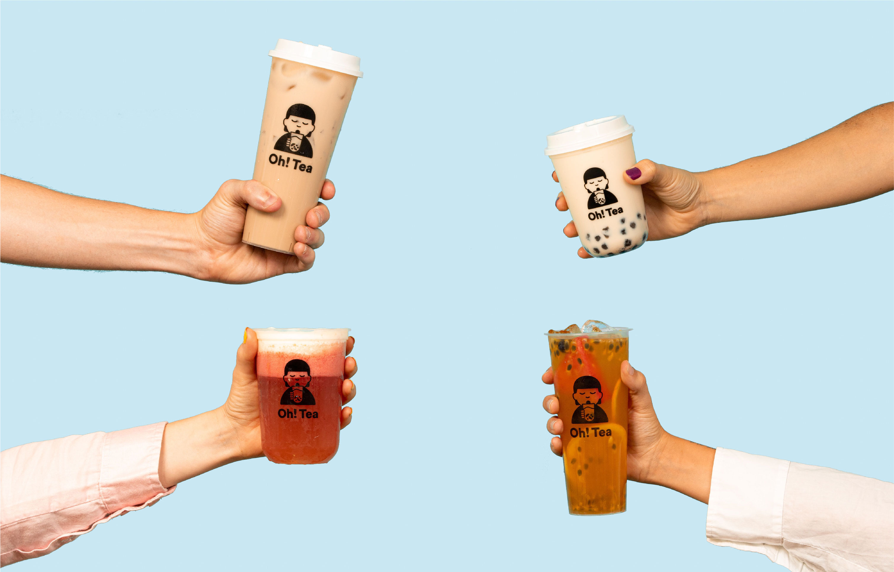 Estudio Nuar Creates First Bubble Tea Brand in Argentina