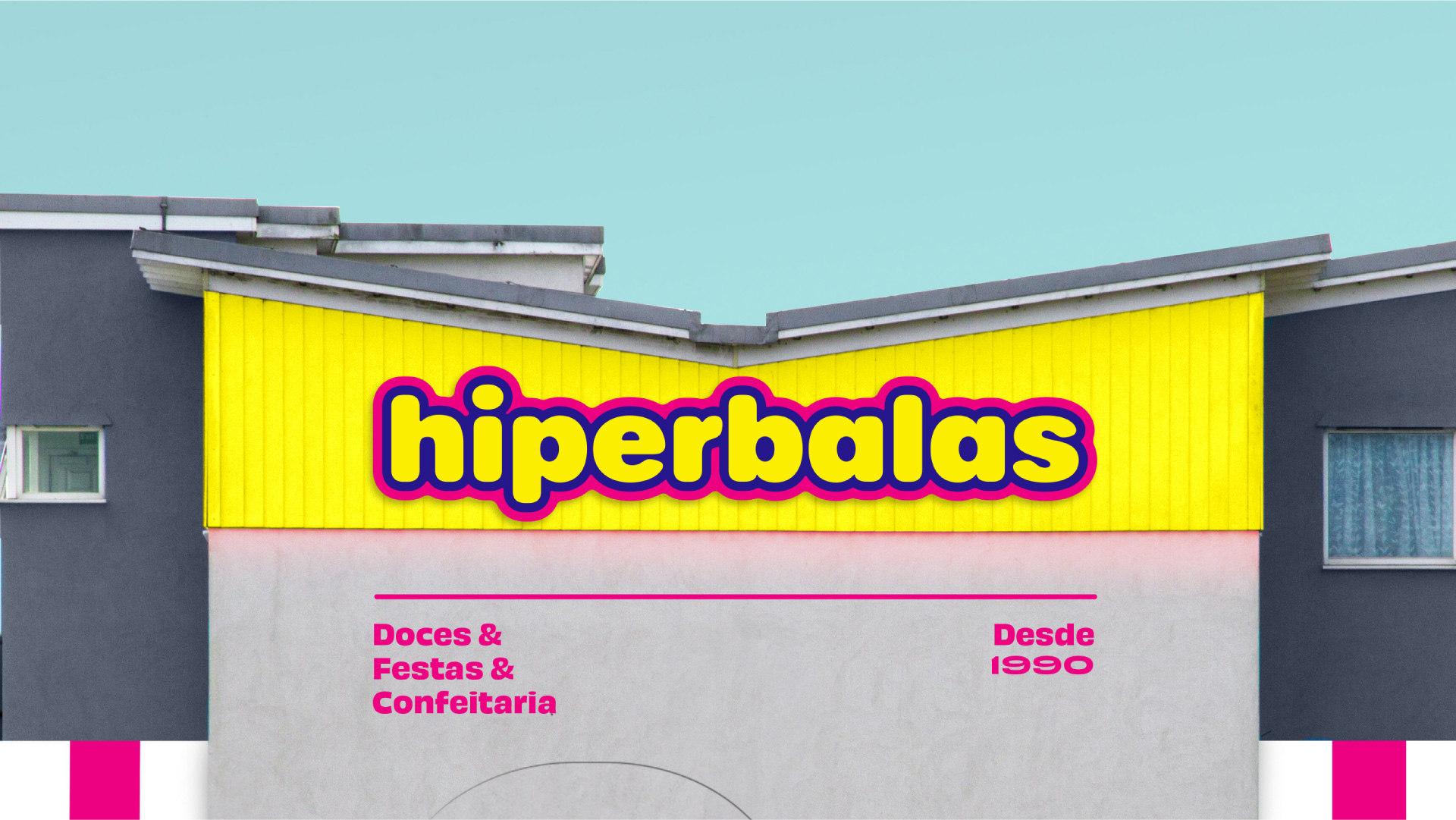 Vibrant and Colourful Brand Design for Hiperbalas Confectionary Products