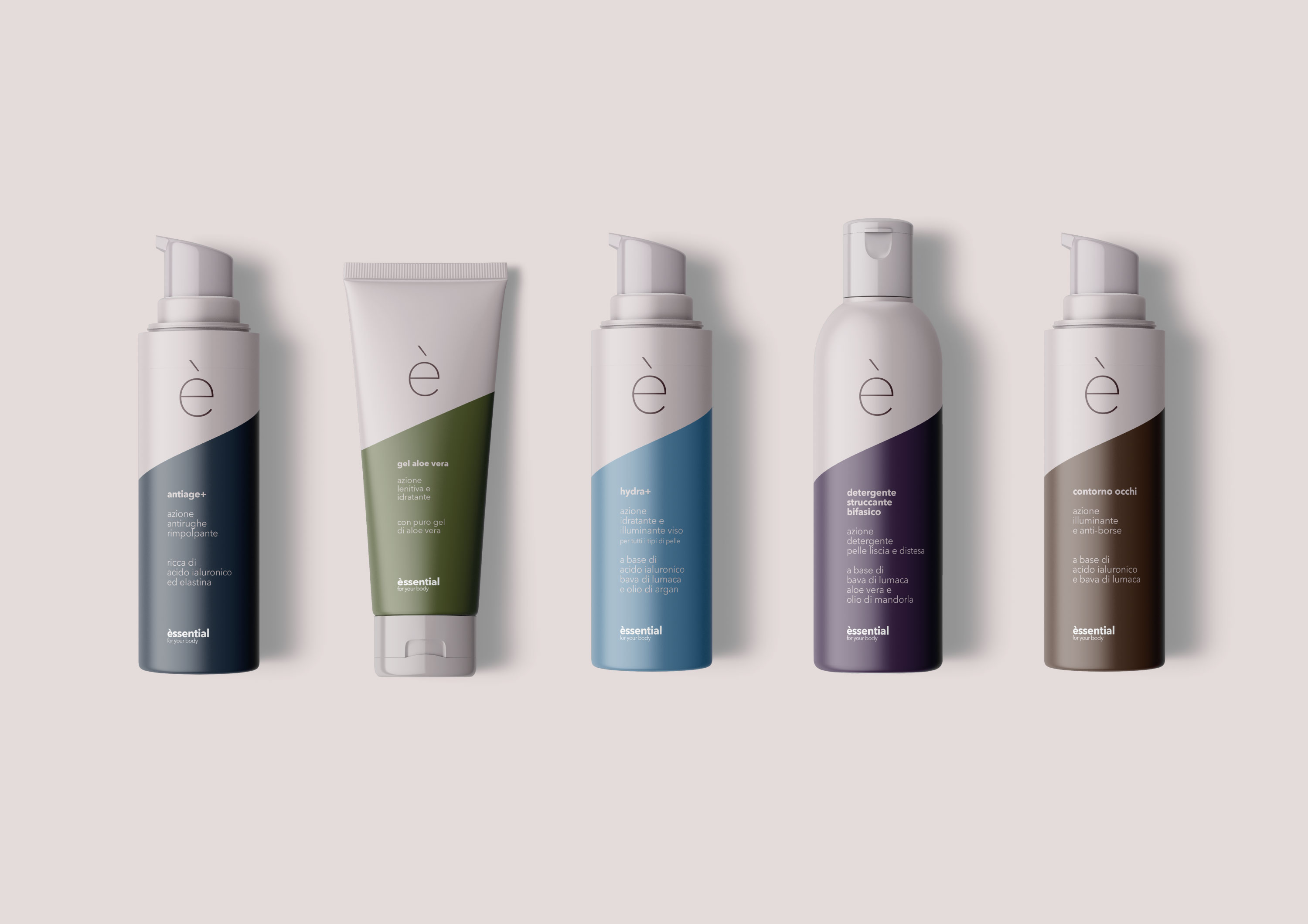 Packaging Design for Èssential, for your body by Veesion