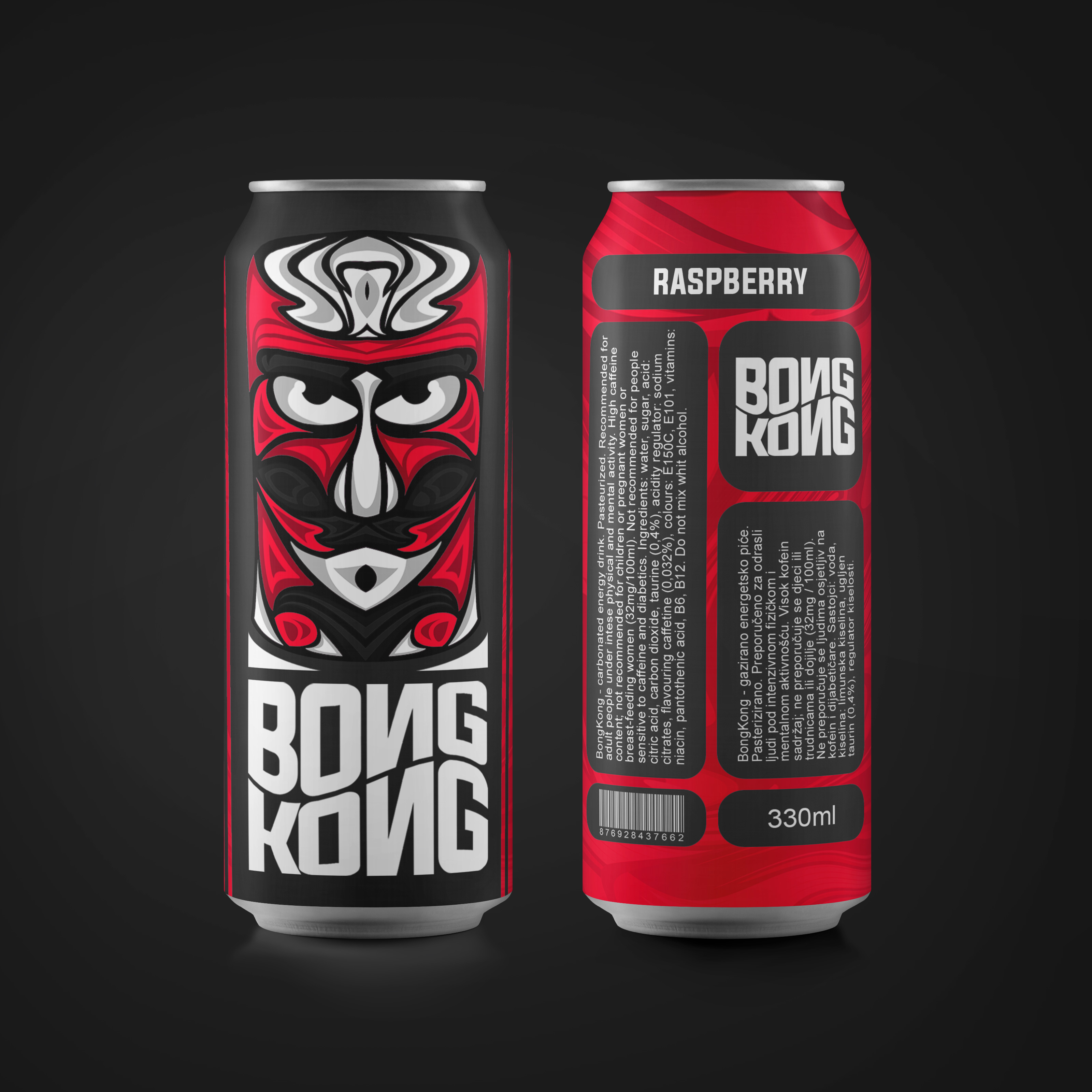 Varesono Create Packaging Design for Energy Drinks Brand BongKong