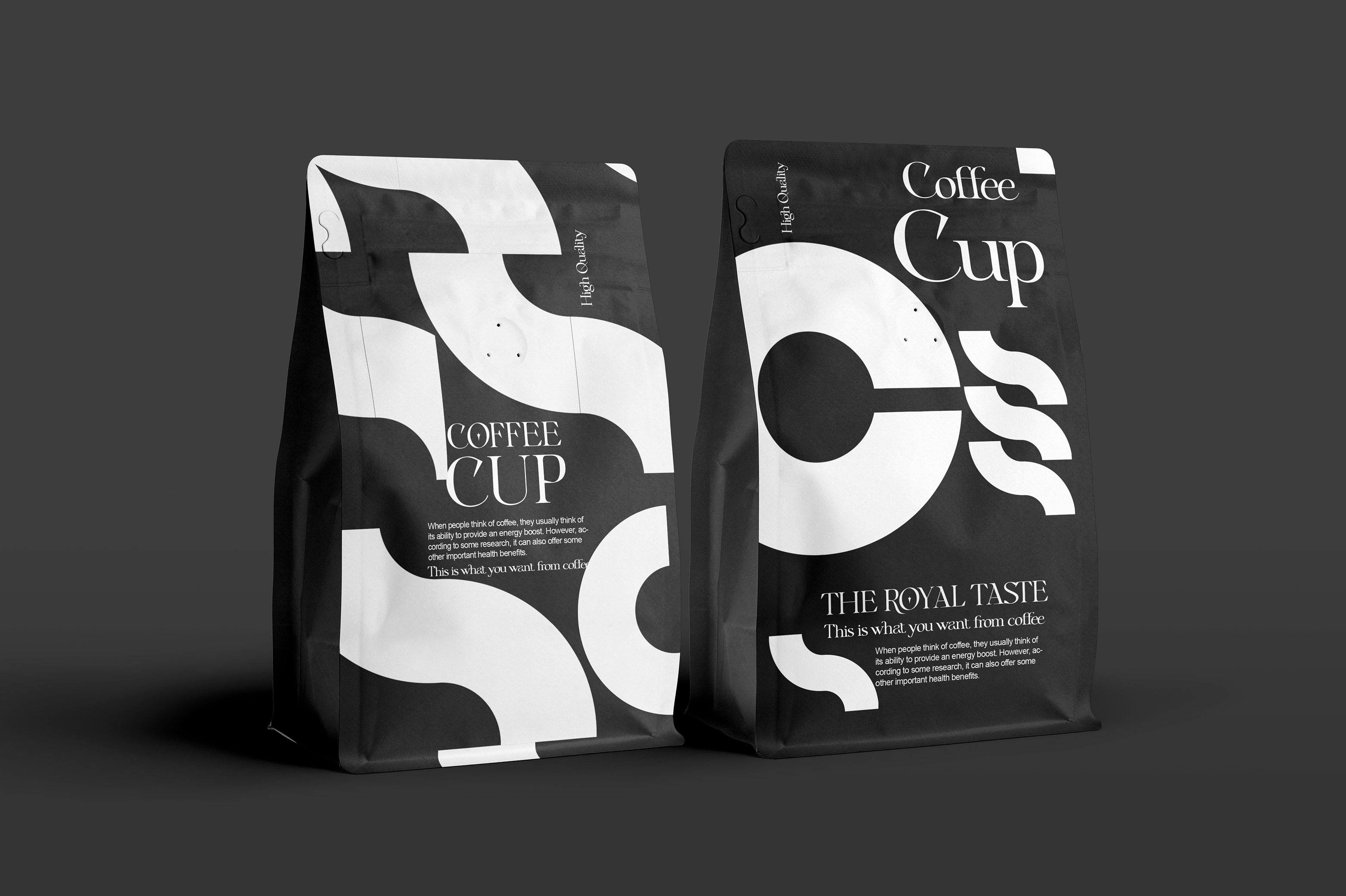 Taha Fakouri Creates a Coffee Cup Packaging Design