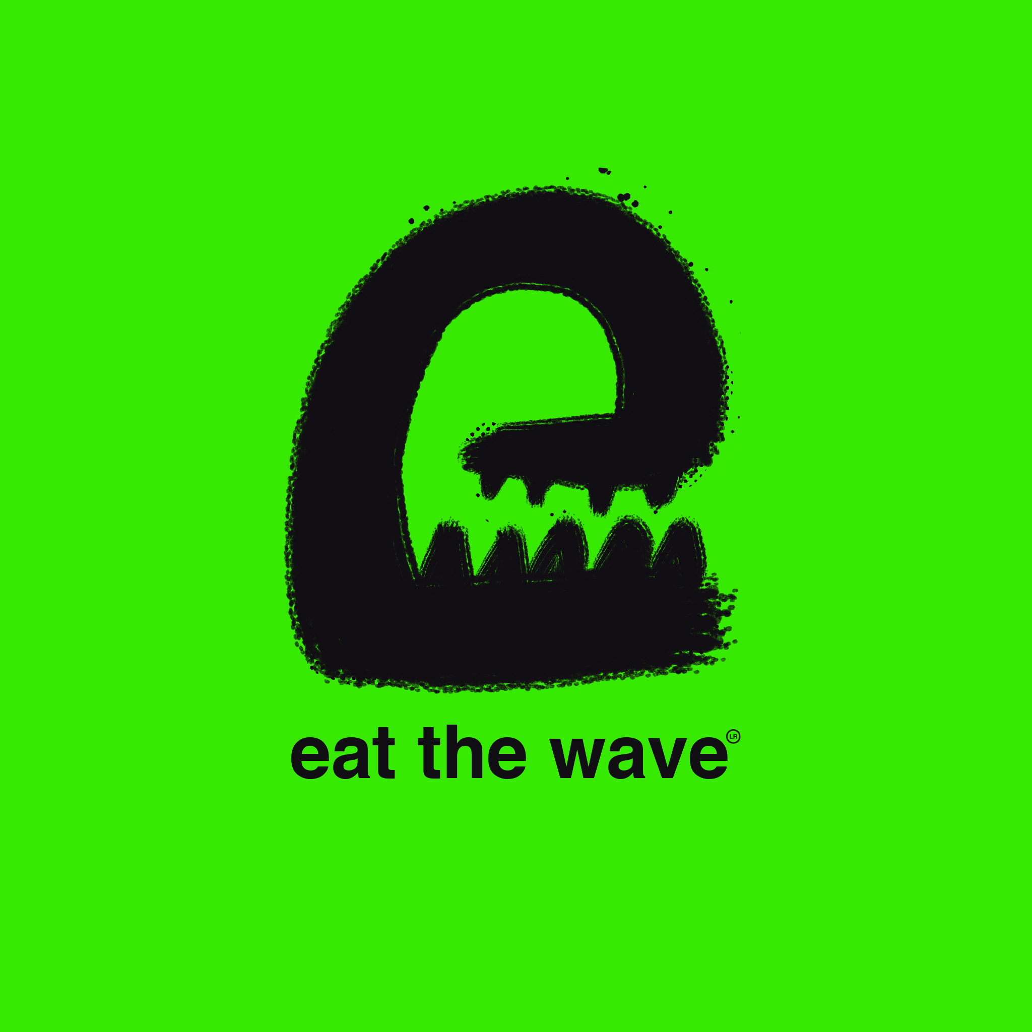 Brand Design for the Garage Brand Eat The Wave