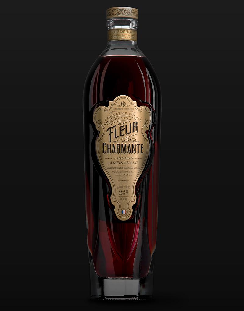 CF Napa Creates Charming Liqueur Packaging for Fleur Charmante