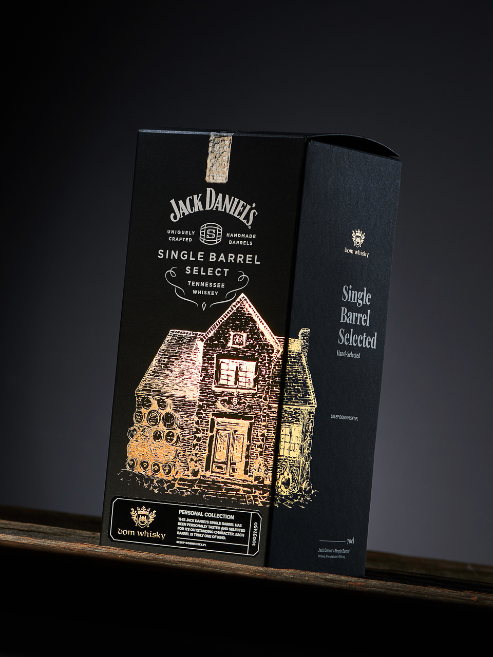 Limited Packaging Design for Jack Daniels Whisky Made by Voila Studio