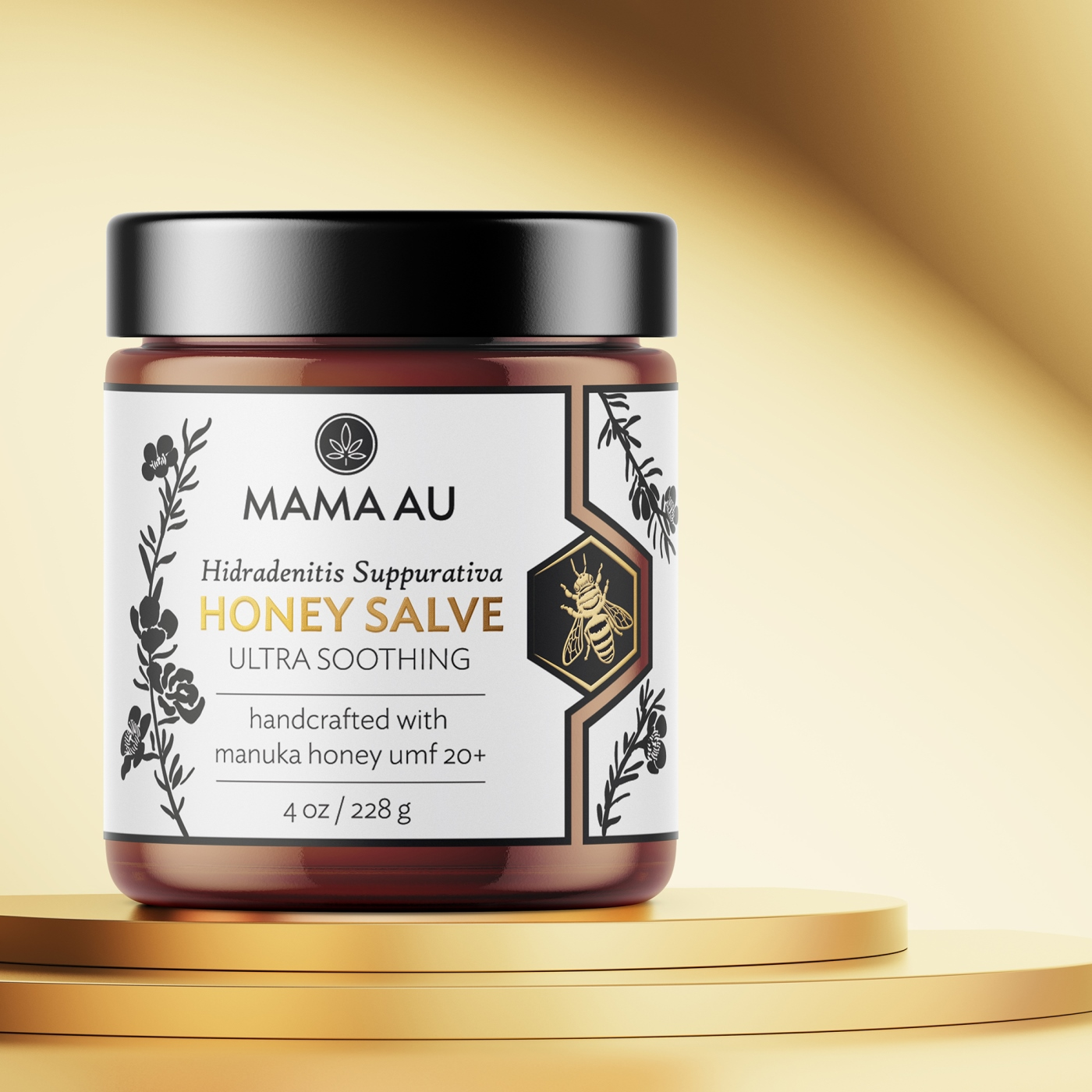Hamster & Hammer Creates Label Designs for the Mama AU Brand