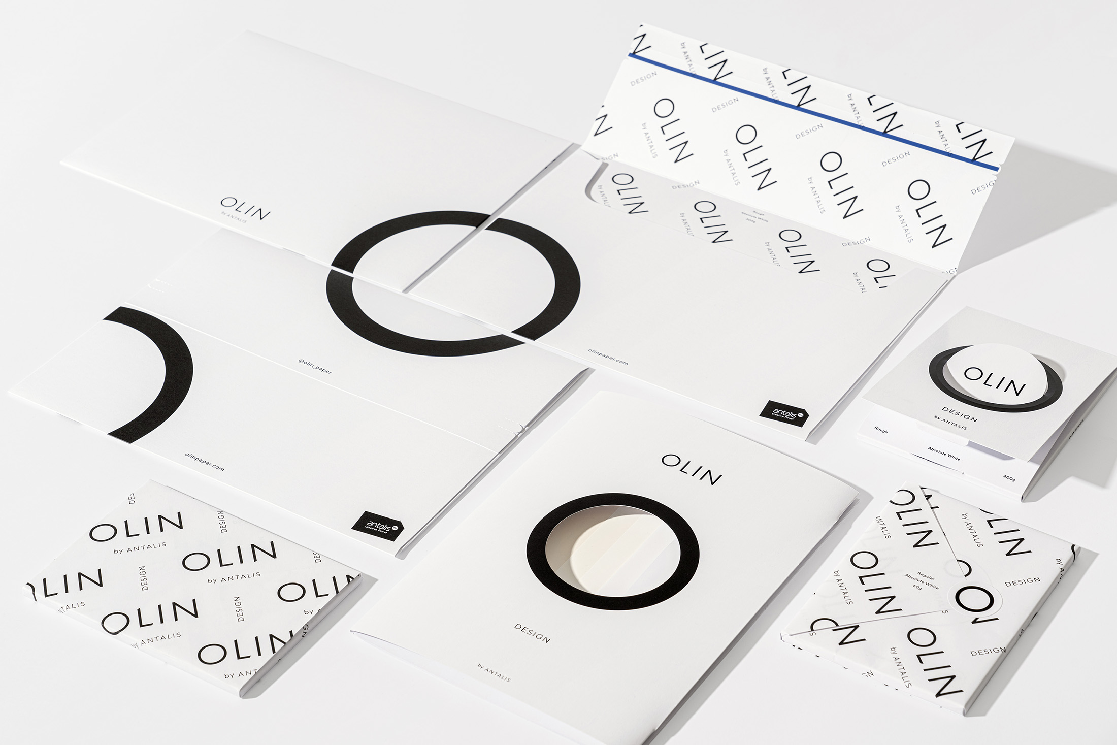 New Brand Identity for Paper Range Olin by Design & Practice