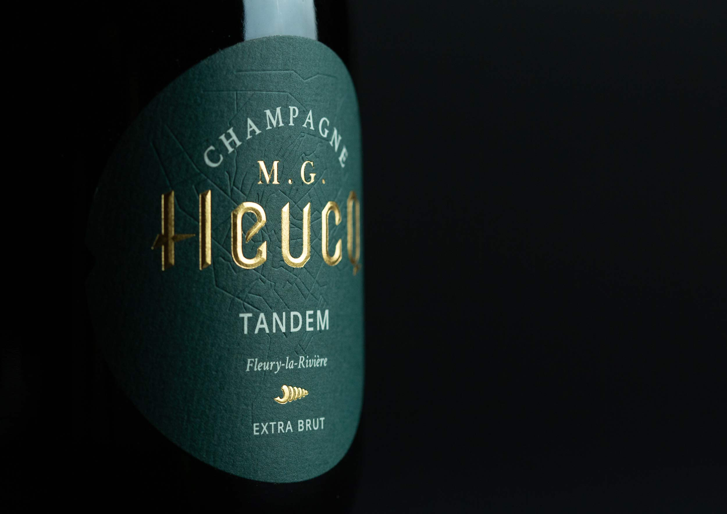 Studio Boam Creates Champagne M.G. Heucq New Bottle Design