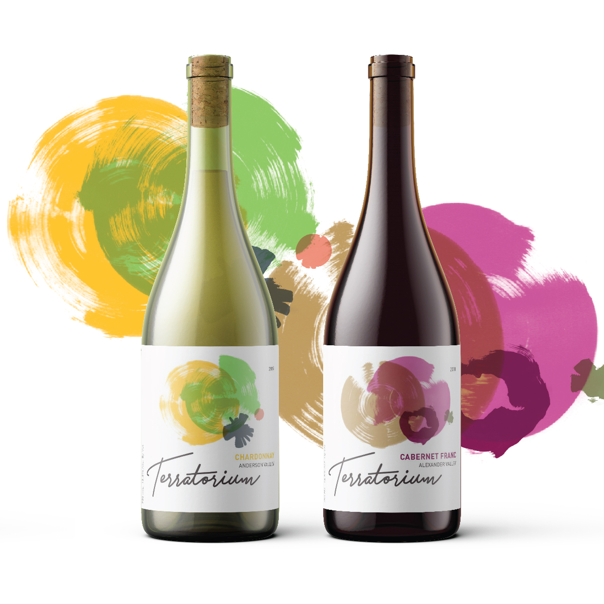 Tommyink Creates a Lovely Packaging Design for Terratorium Wines