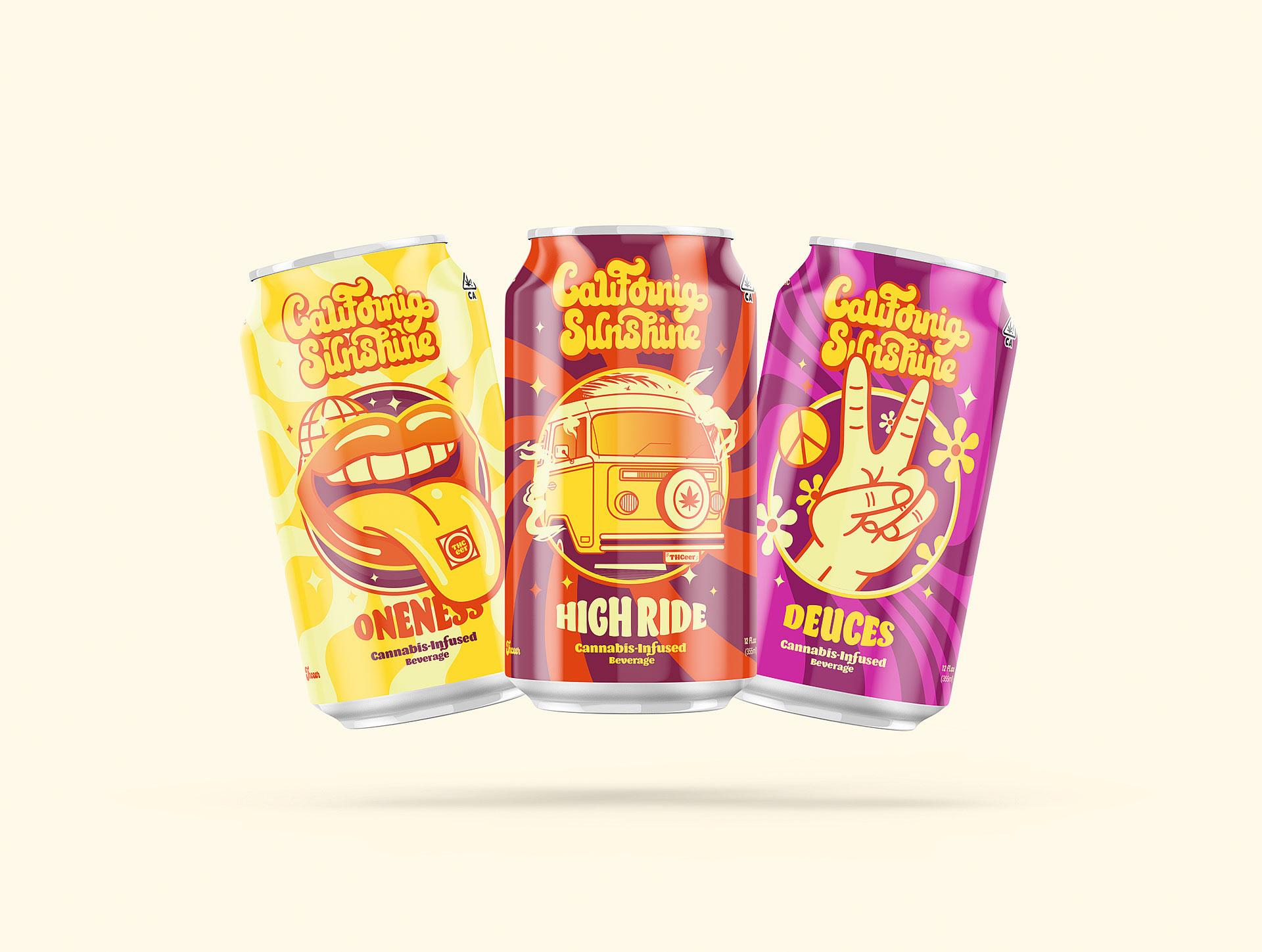 Beer Brand Identity Designed for California Sunshine