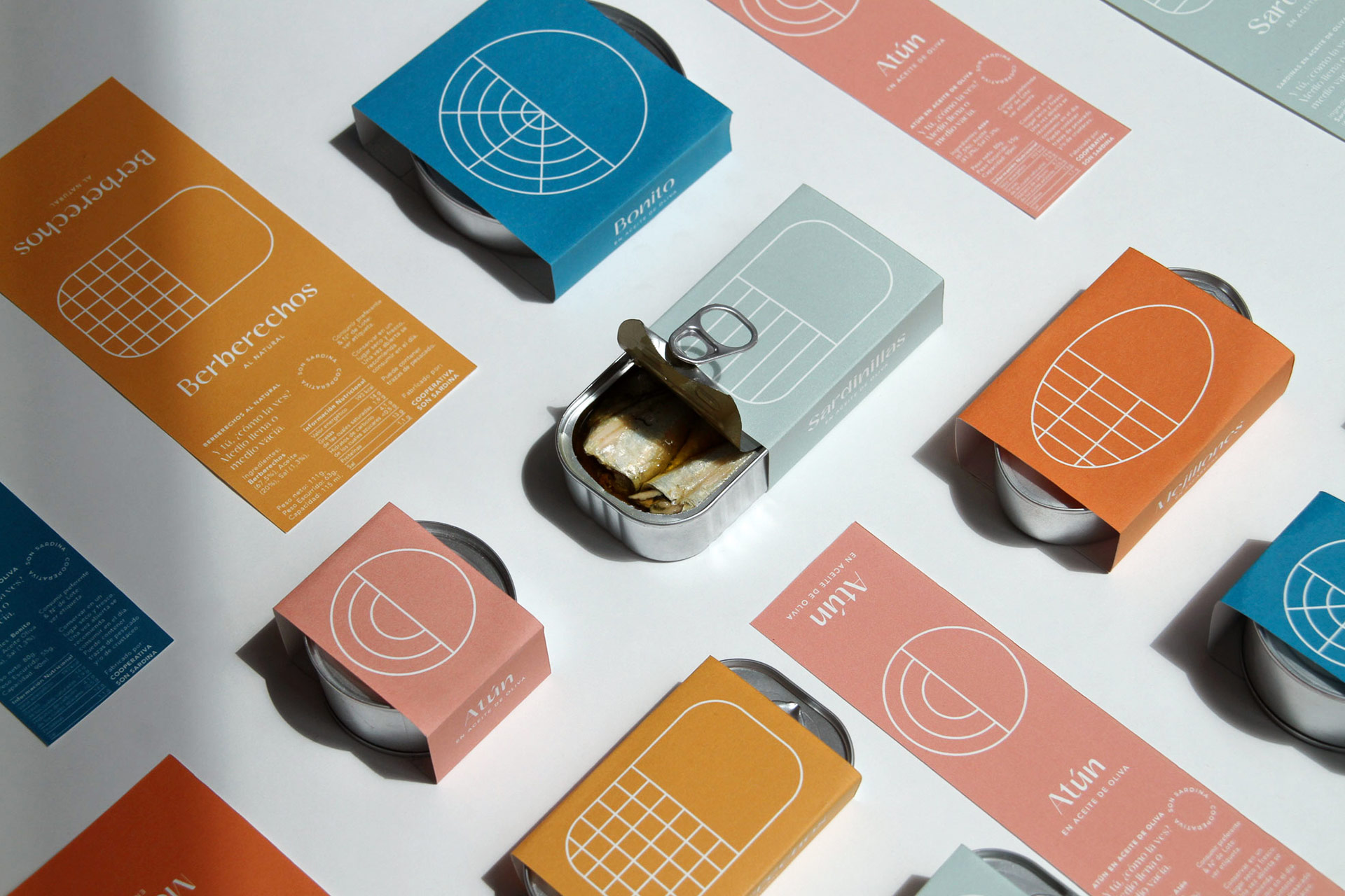Everyday Canned Food Packaging Design by Barceló Estudio
