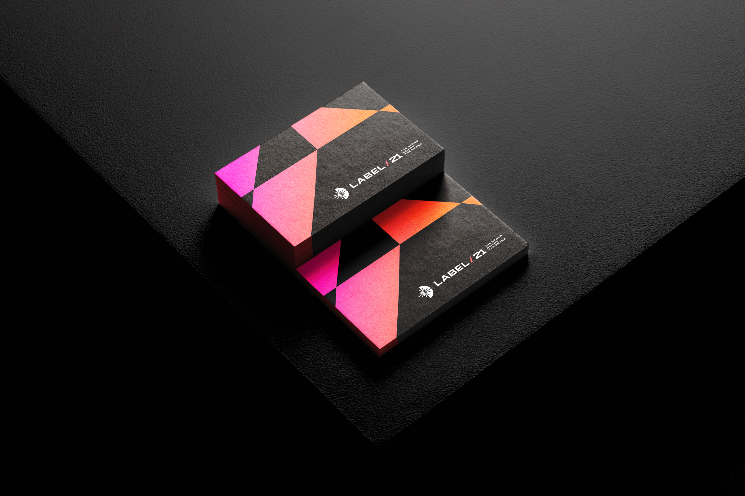 Estúdio Kuumba Creates Visual Identity Project for Label 21