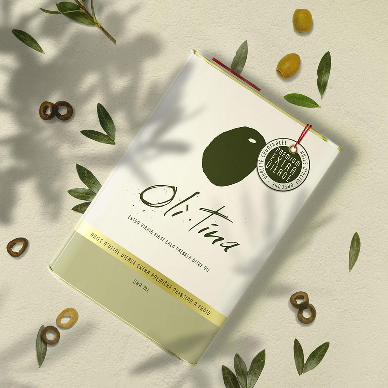 Oli Tina, Love in an Oil Container Designed by Delatour Design Studio