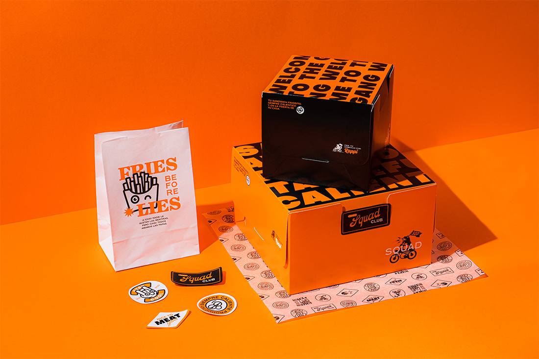 Stay Hungry Studio Create Positive Attitude Branding for Welcome to the Gang