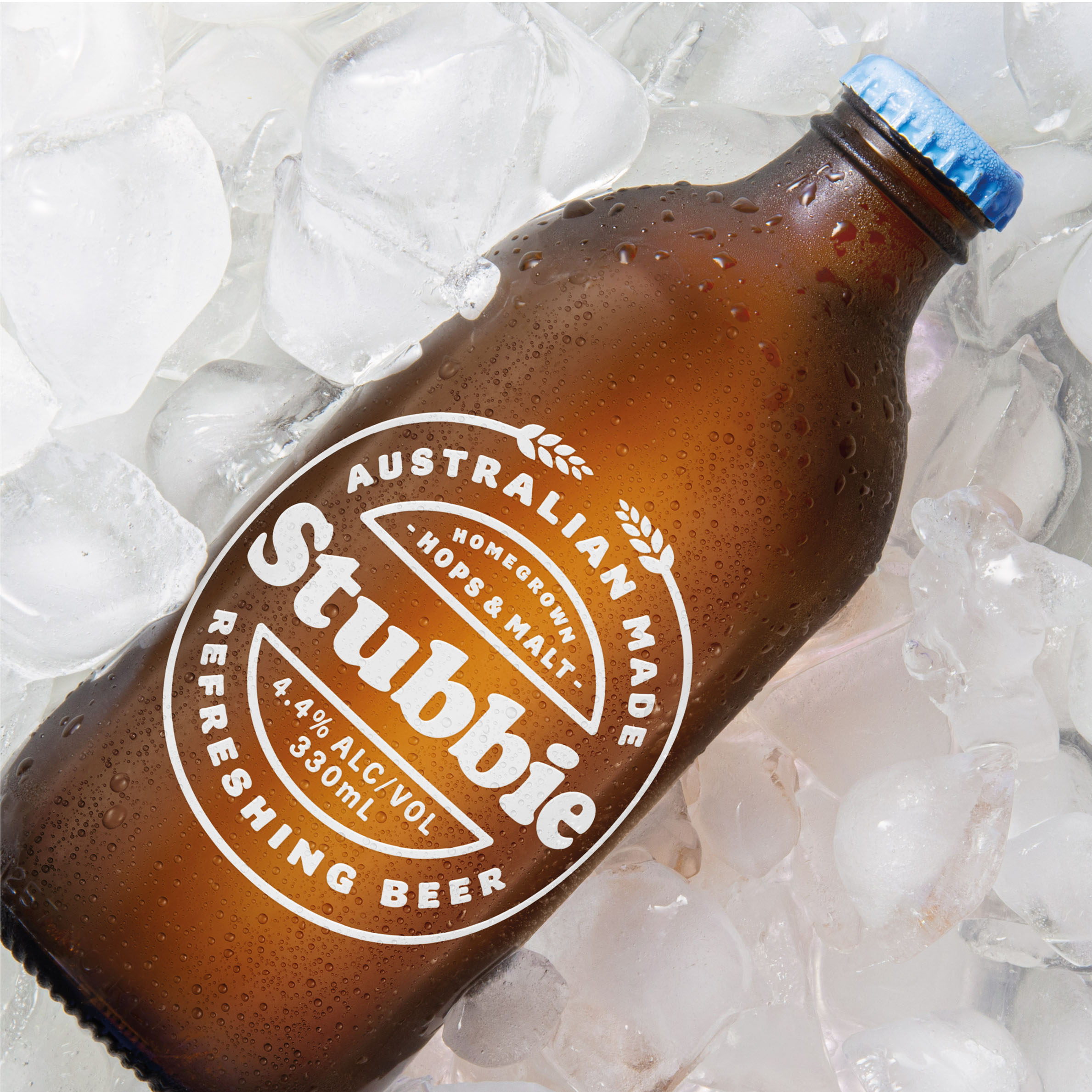 Packaging Design for Stubbie Beer by Creative Platform