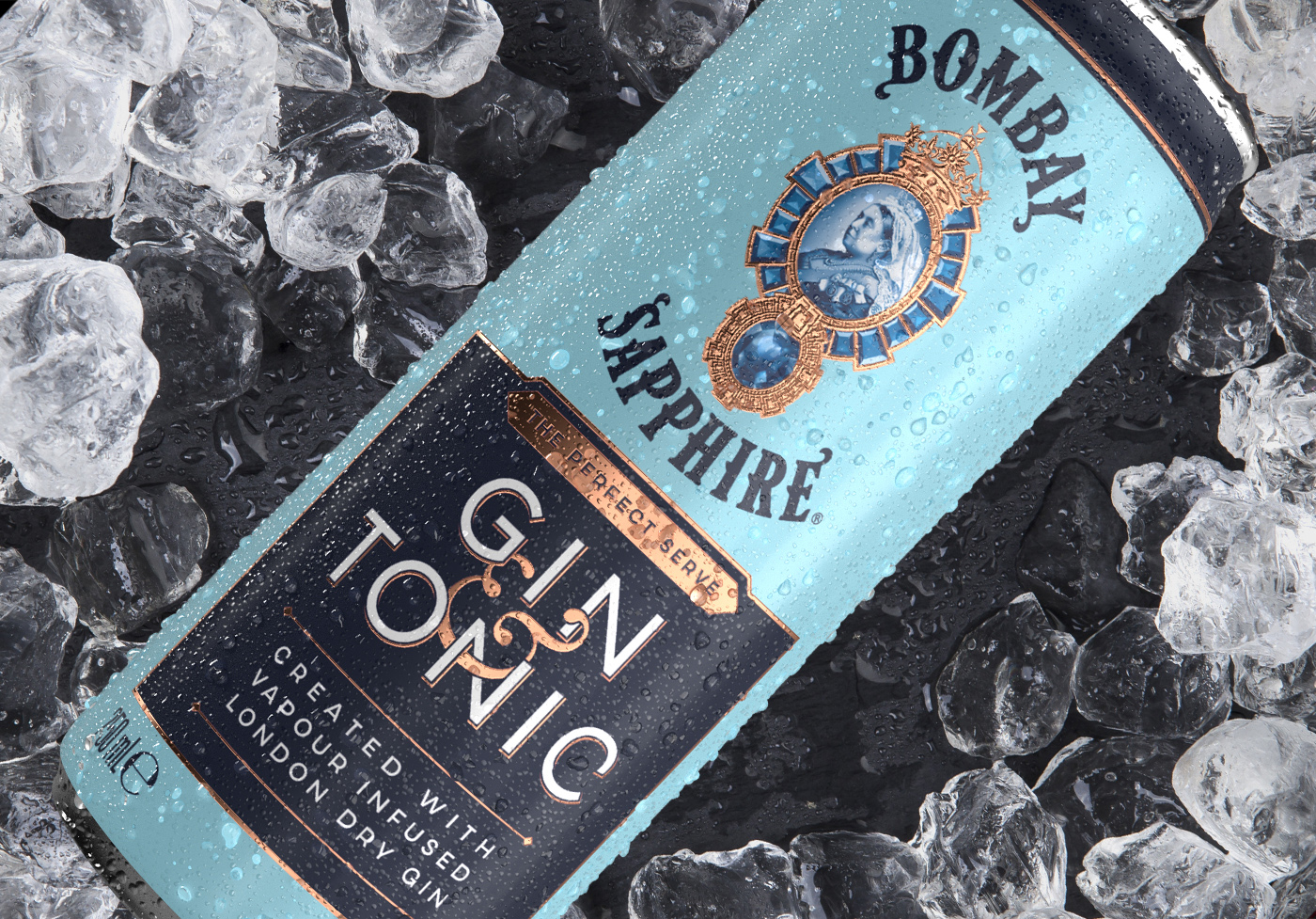 Knockout Design Create Bombay Sapphire's New RTD Offering