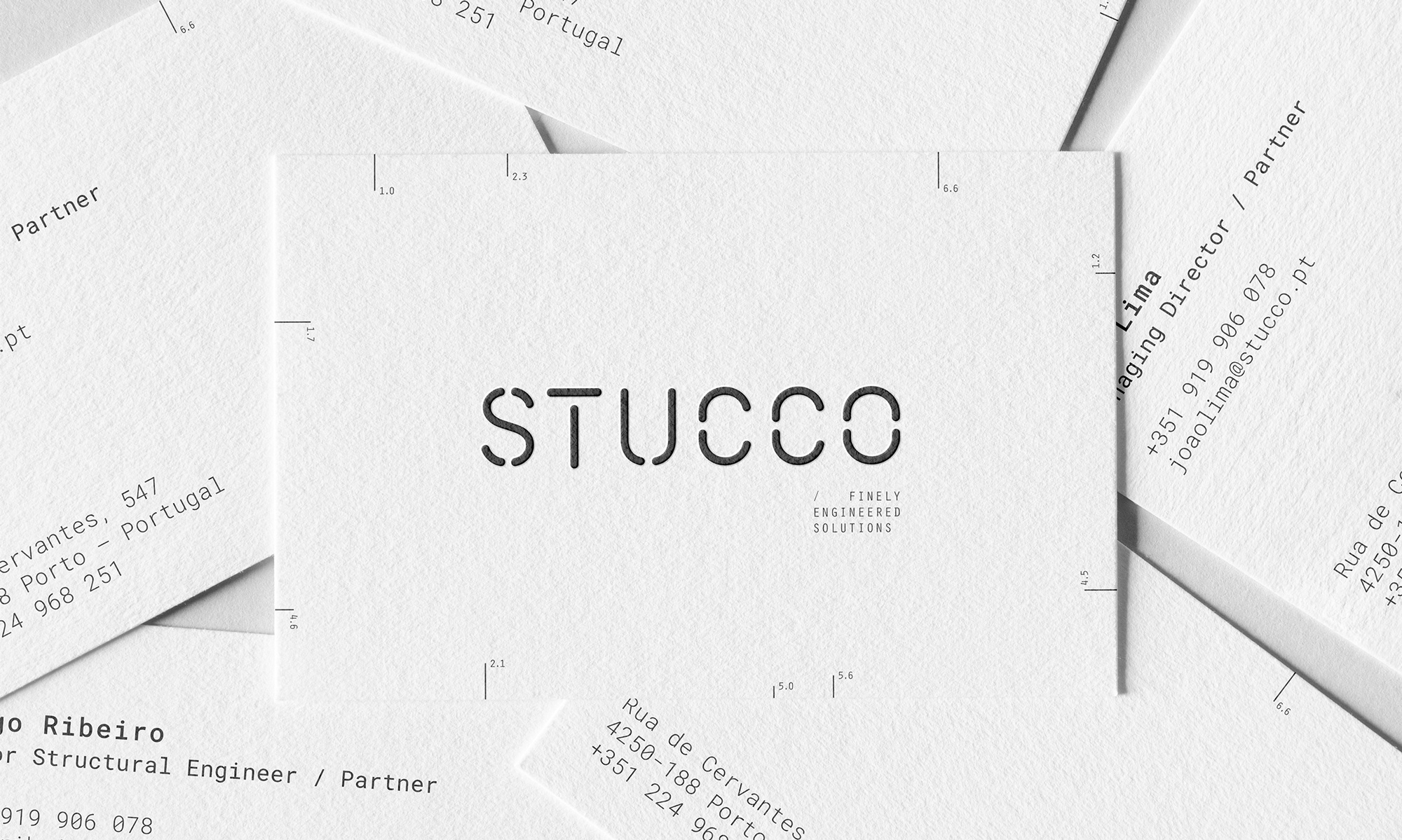 327 Creative Studio Design Brand Identity for Engineering Consulting Services Stucco