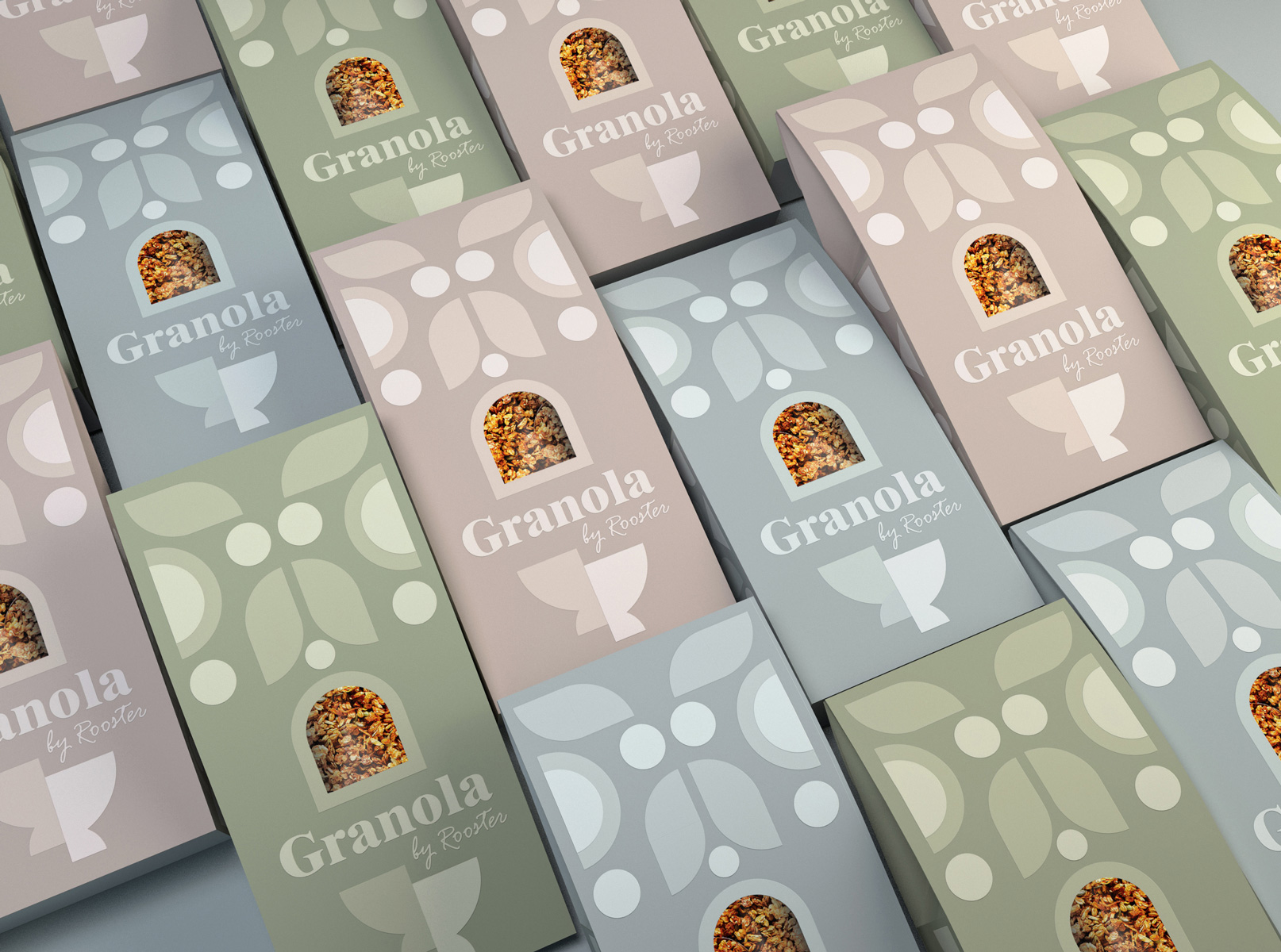 Design Studio CreativeByDefinition Creates New Packaging for Granola by Rooster