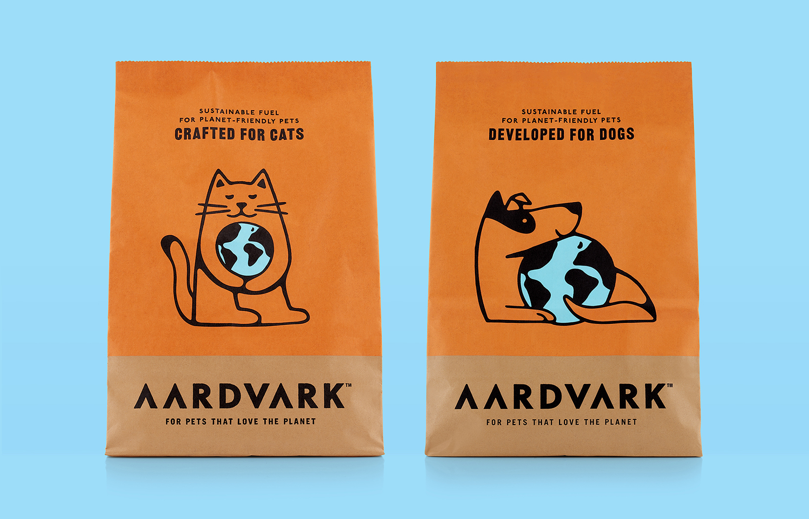 B&B Studio Creates Aardvark, a Sustainable Insect-based Pet Food Designed to Grow an Engaged Community of Pet and Planet Lovers