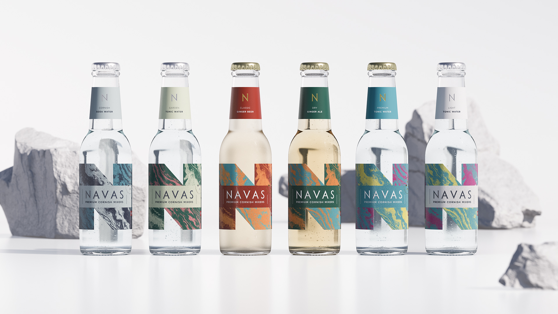 Navas Drinks Premium Spirits Designed by Kingdom & Sparrow
