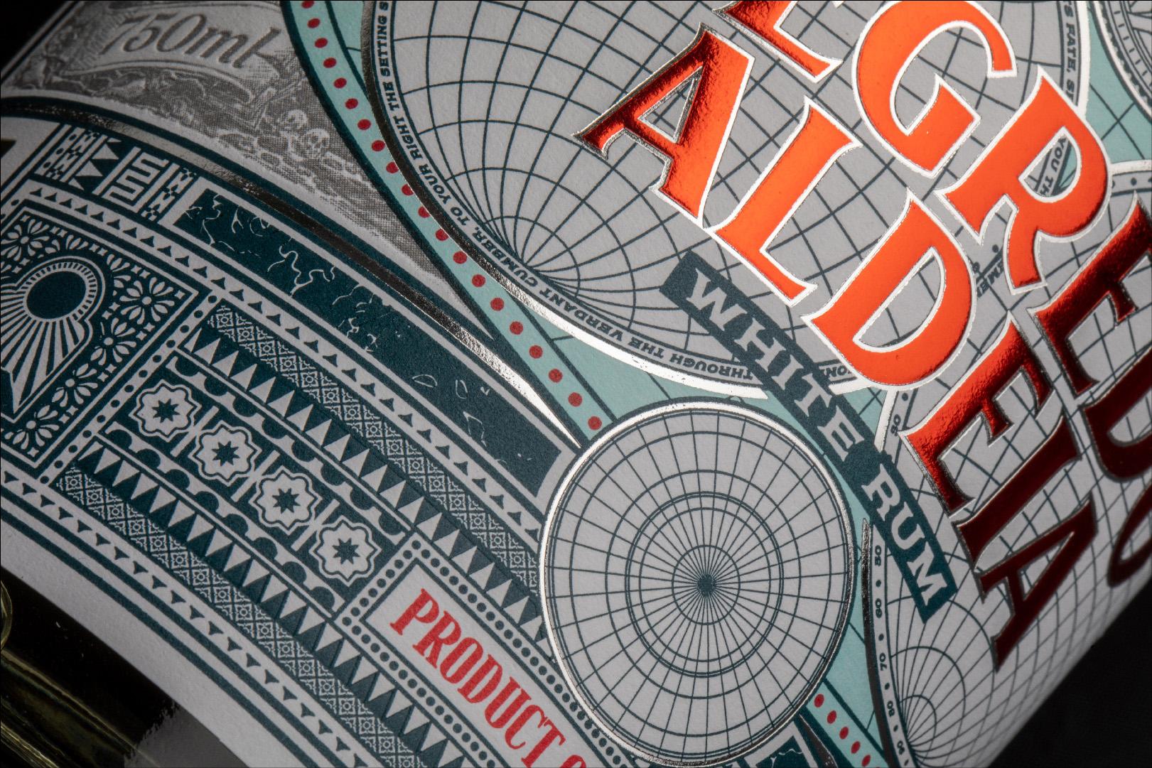 Packaging Design for Segredo Aldeia Rum by Fullarton Distilleries