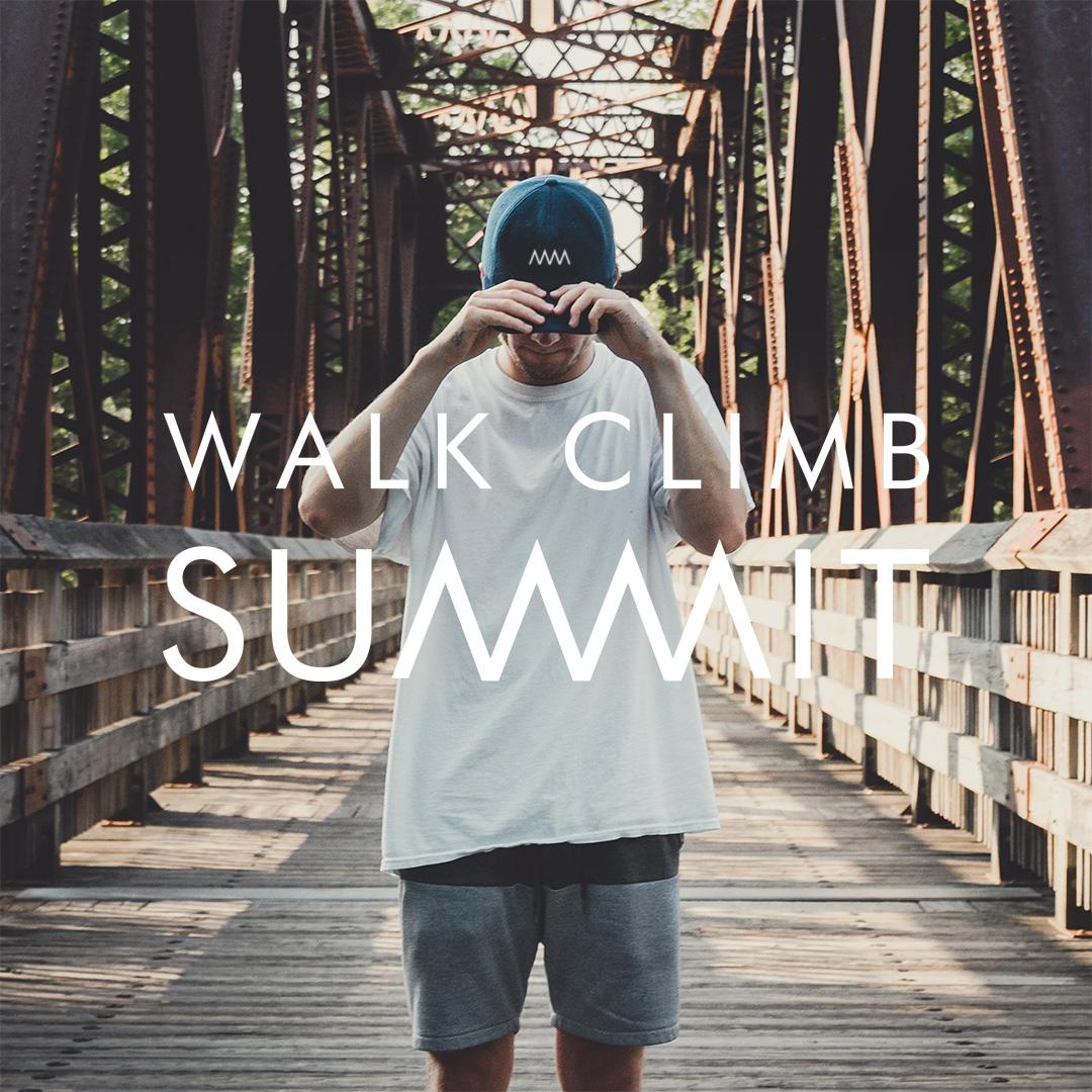 New Brand Logo for Walk Climb Summit by Signal Studio