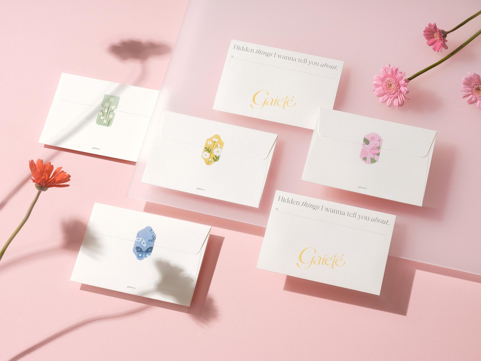 M — N Associates Designed Wonderful Box for Gaieté