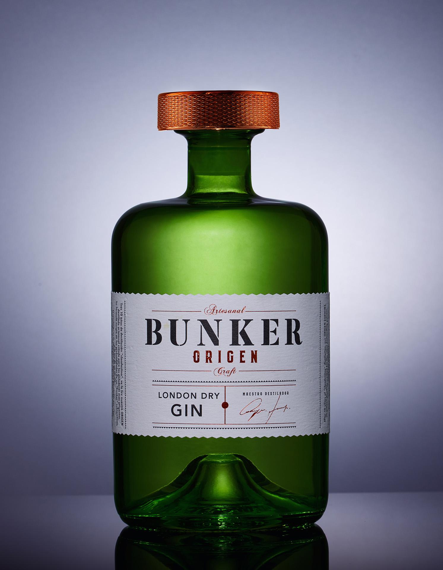Javier Garduño Estudio de Diseño Creates New Packaging Design for Origen Gin