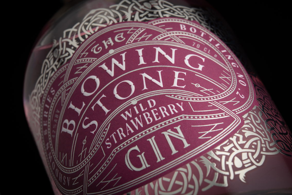The Blowing Stone Gin Range Designed by Benjamin Charles