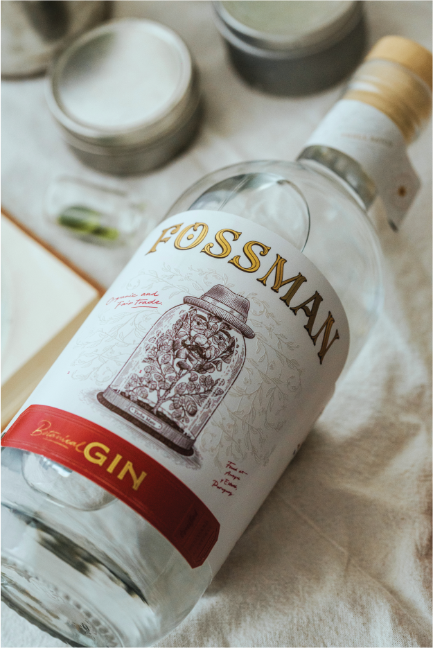 Fossman Type, Illustration and Packaging Label Design by Manuele Mancini Studio