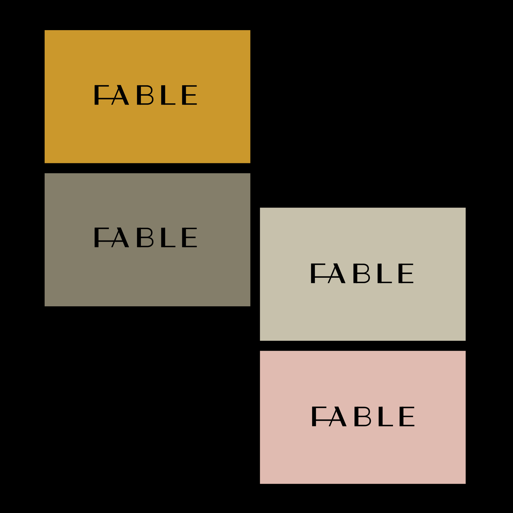 A Branding Concept for Fable Sustainable Furniture by Studio AMW