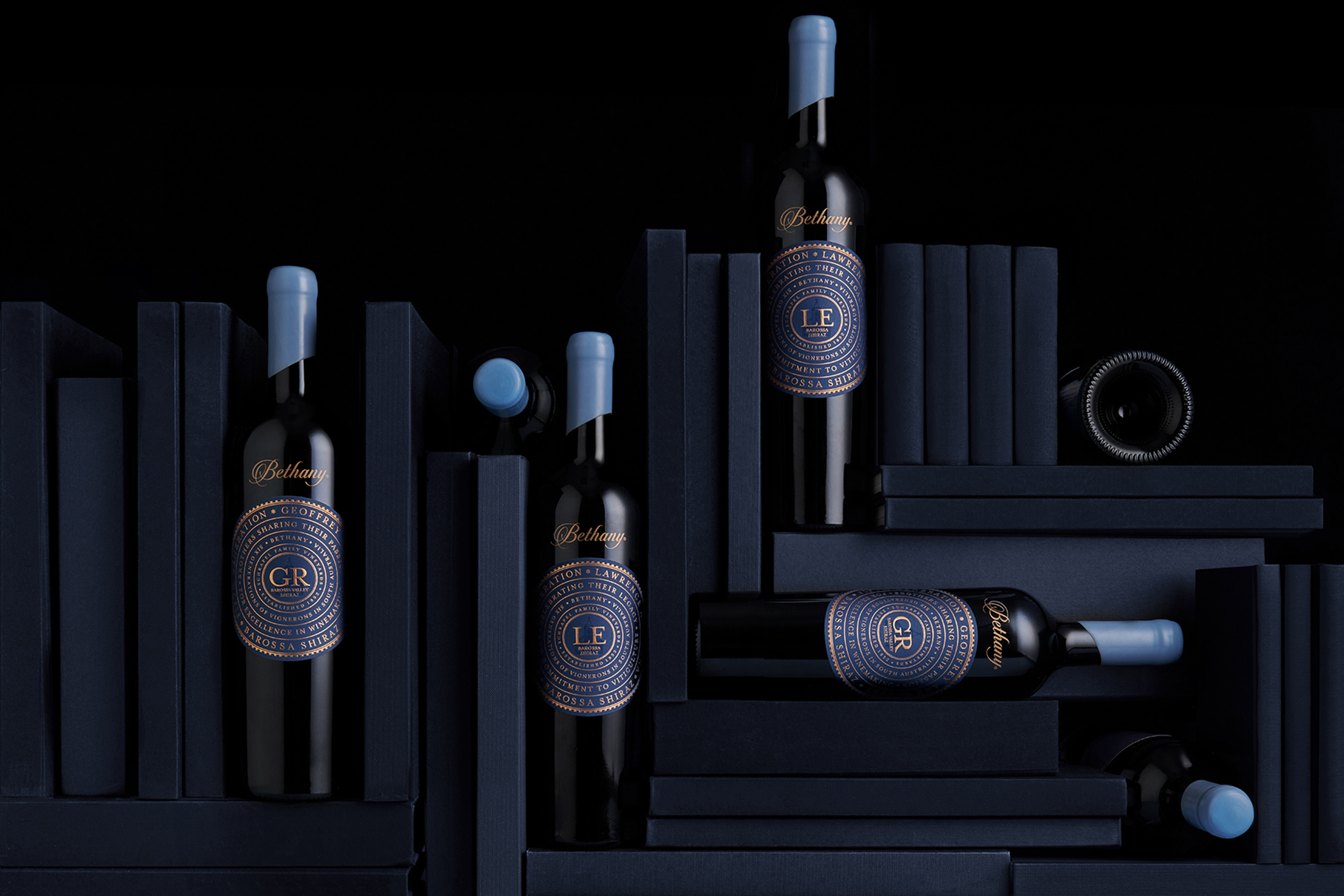 Harcus Design Creates Chapters of Bethany Wines Packaging Design