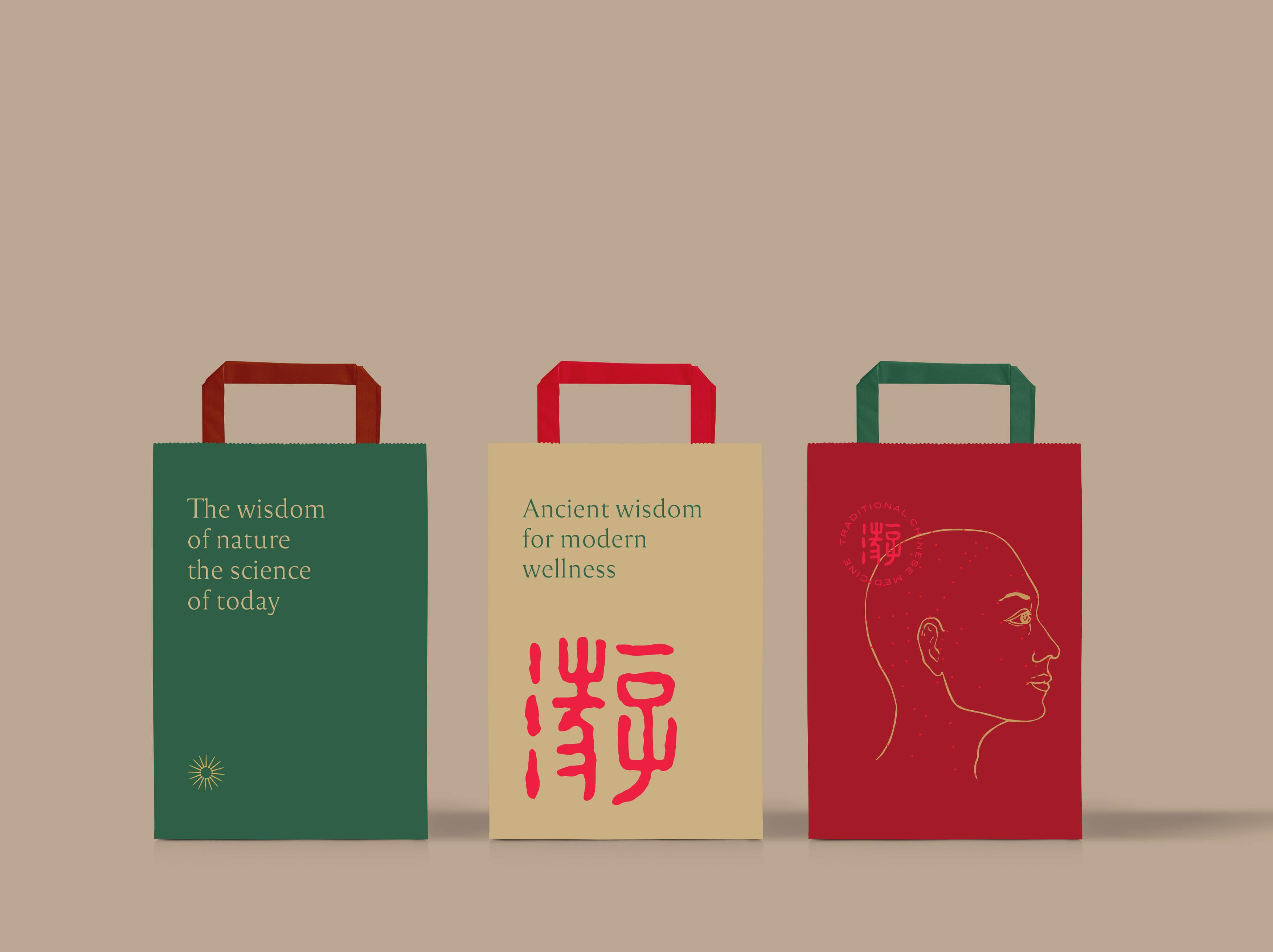 Chinese Acupunture Clinic Mari Akupuntur Branding Designed by Nero Atelier