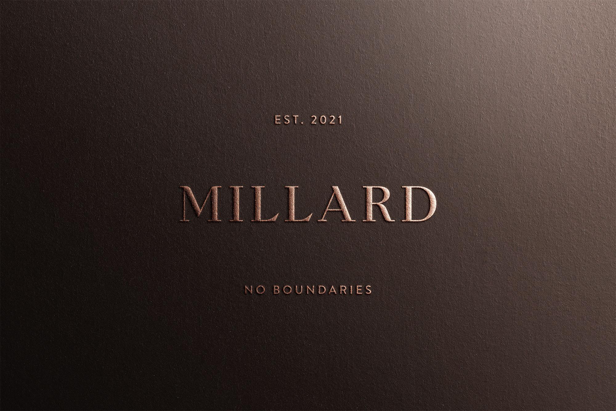 Widarto Impact Creates Millard Sarong Identity Design