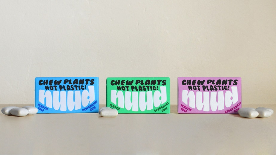 Mother Design Creates Brand Identity for Sustainable Chewing Gum Nuud