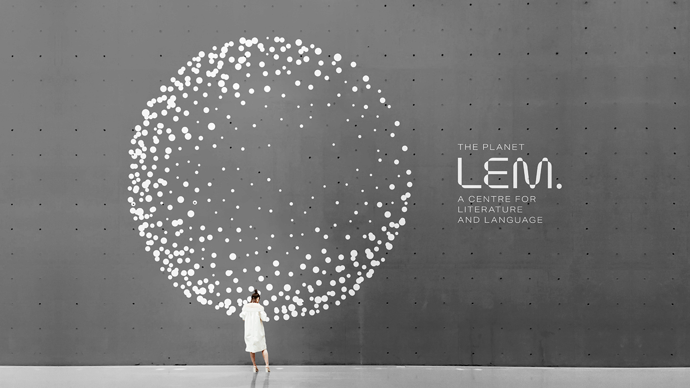 Culture and Literature Centre Branding for Planet Lem