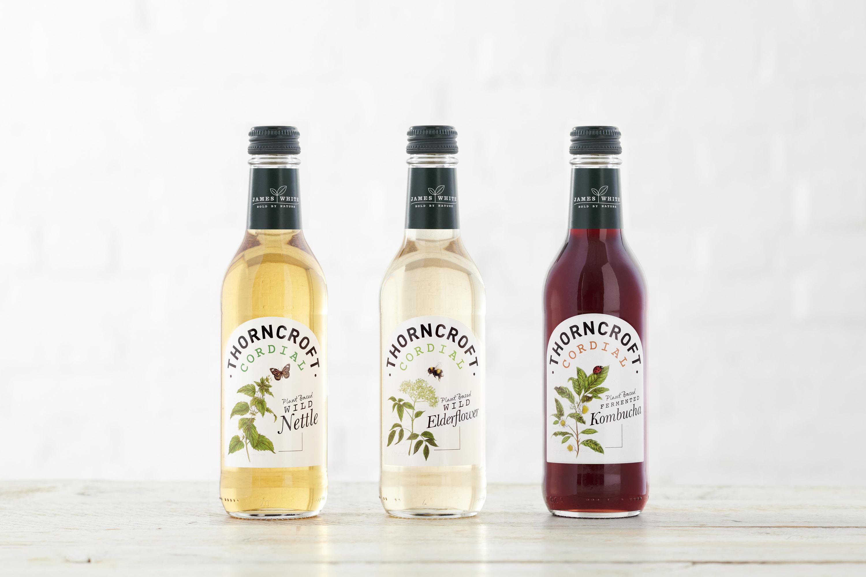 Studio More Redesign for Thorncroft, the UK's Oldest Elderflower Cordial Brand