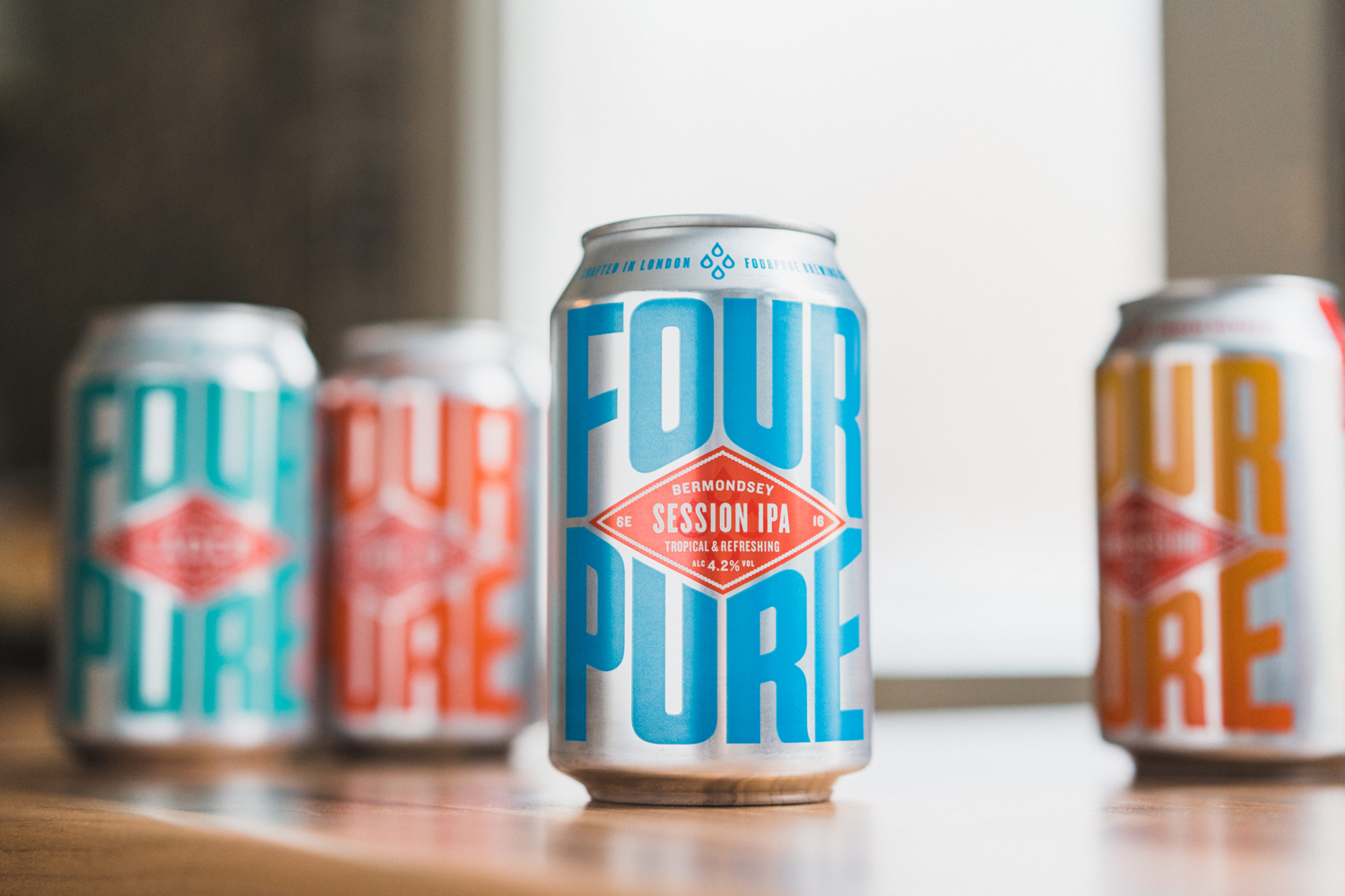 Thirst Craft Returns to Fourpure's Fundamentals to Forge a Refreshingly Simple New Look