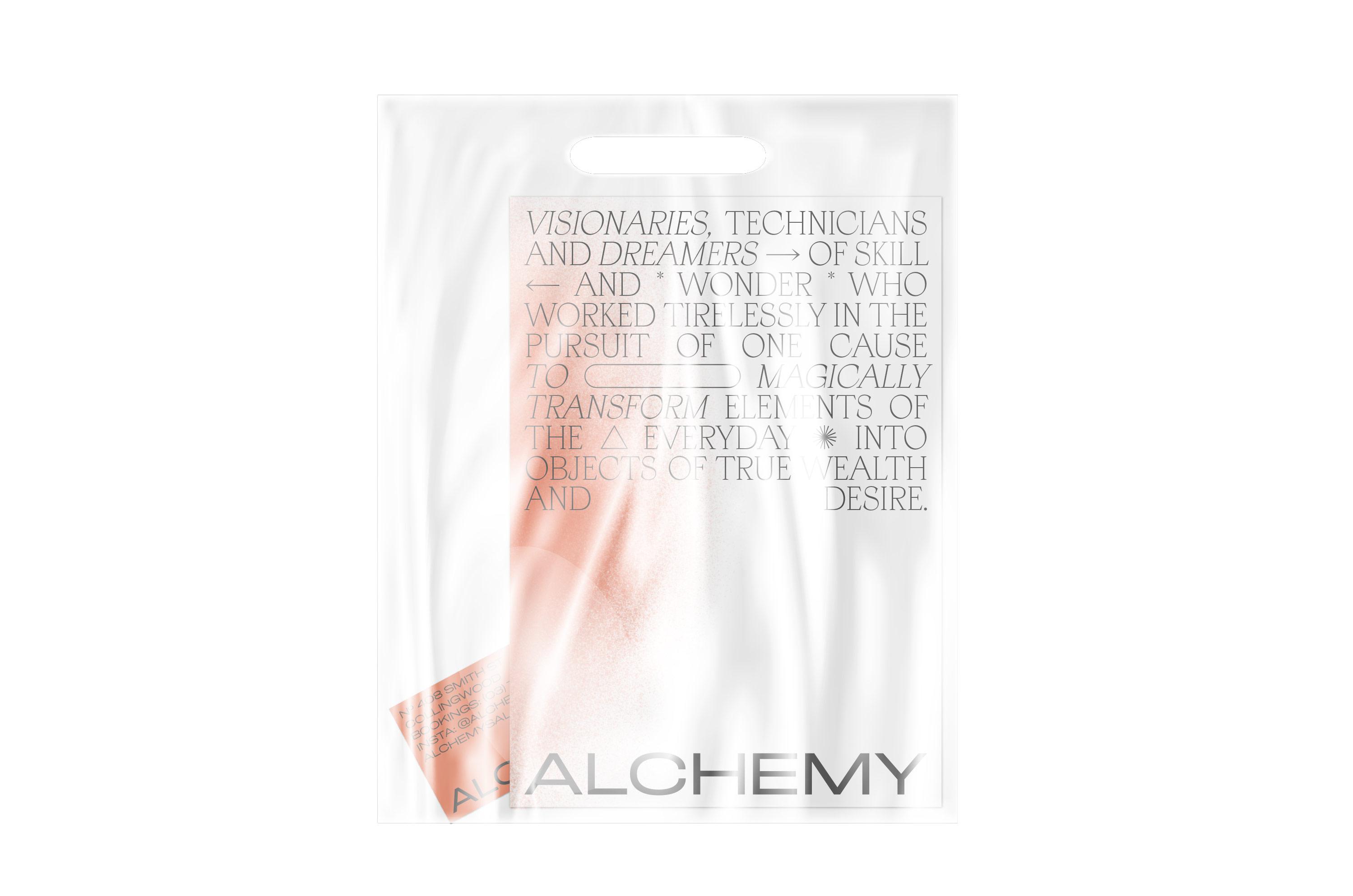Alchemy Hair Salon Branding by Studio Work