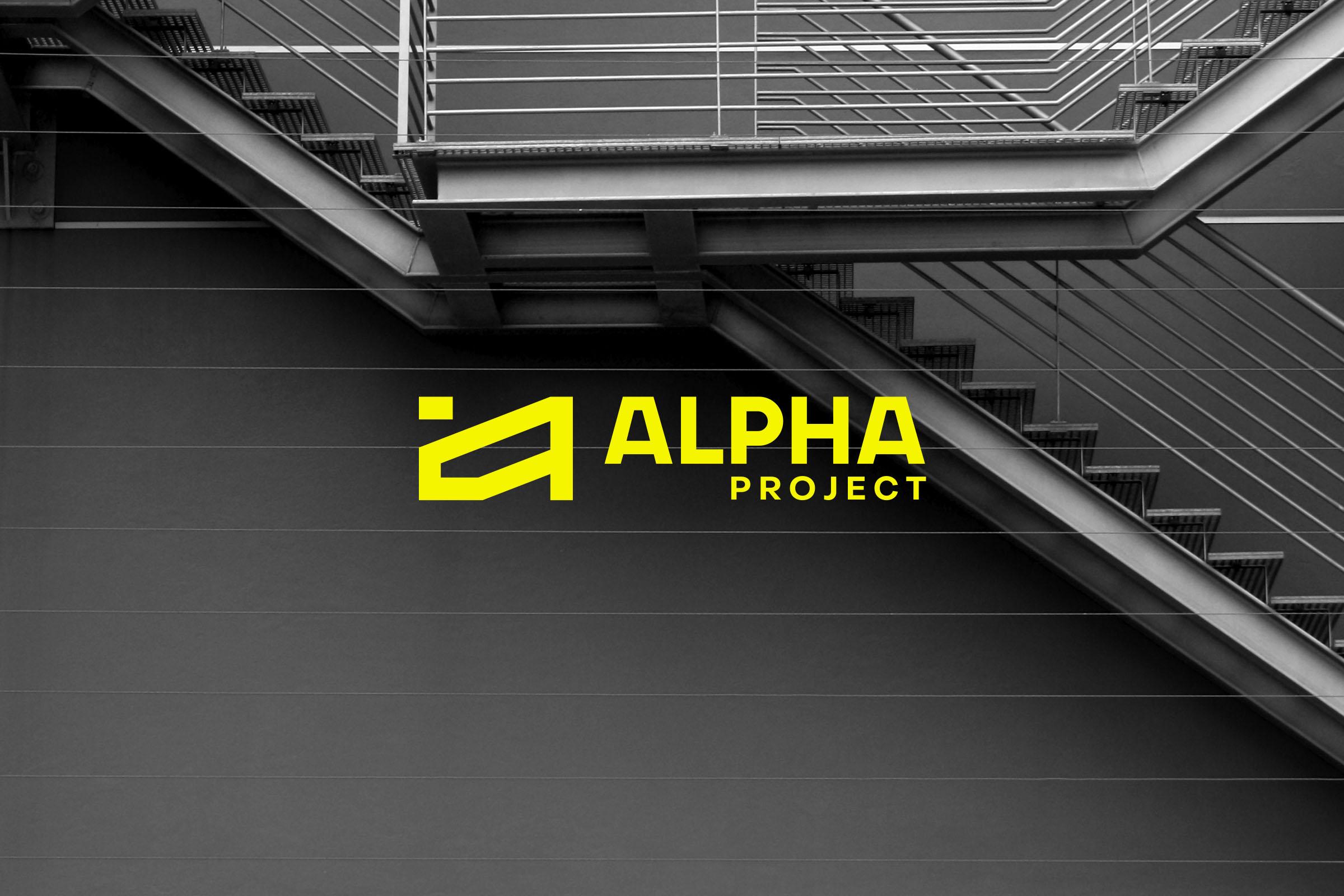 Alpha Project Constructions Design by Cursor Design Studio